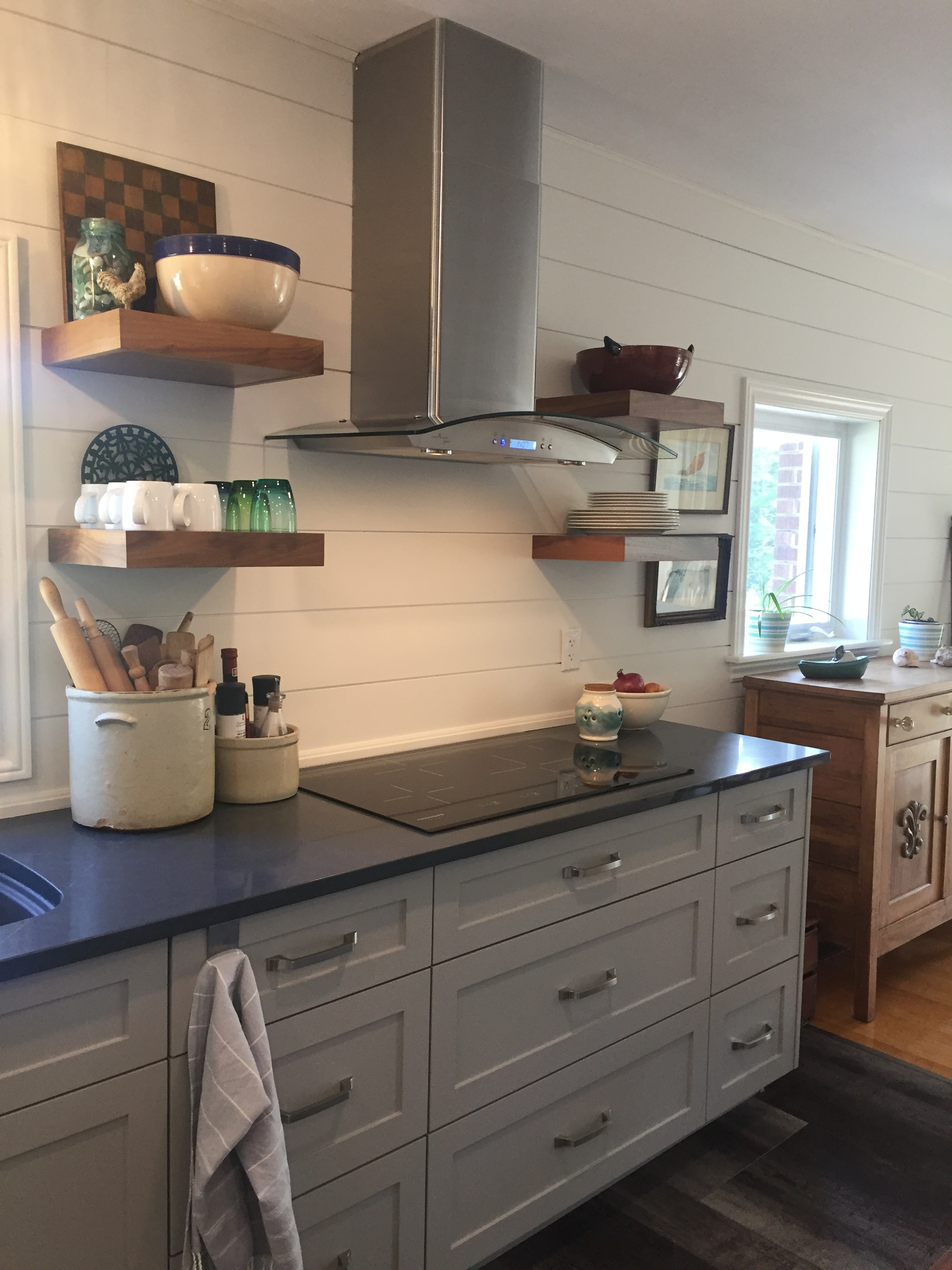 Stove top and floating shelves.JPG
