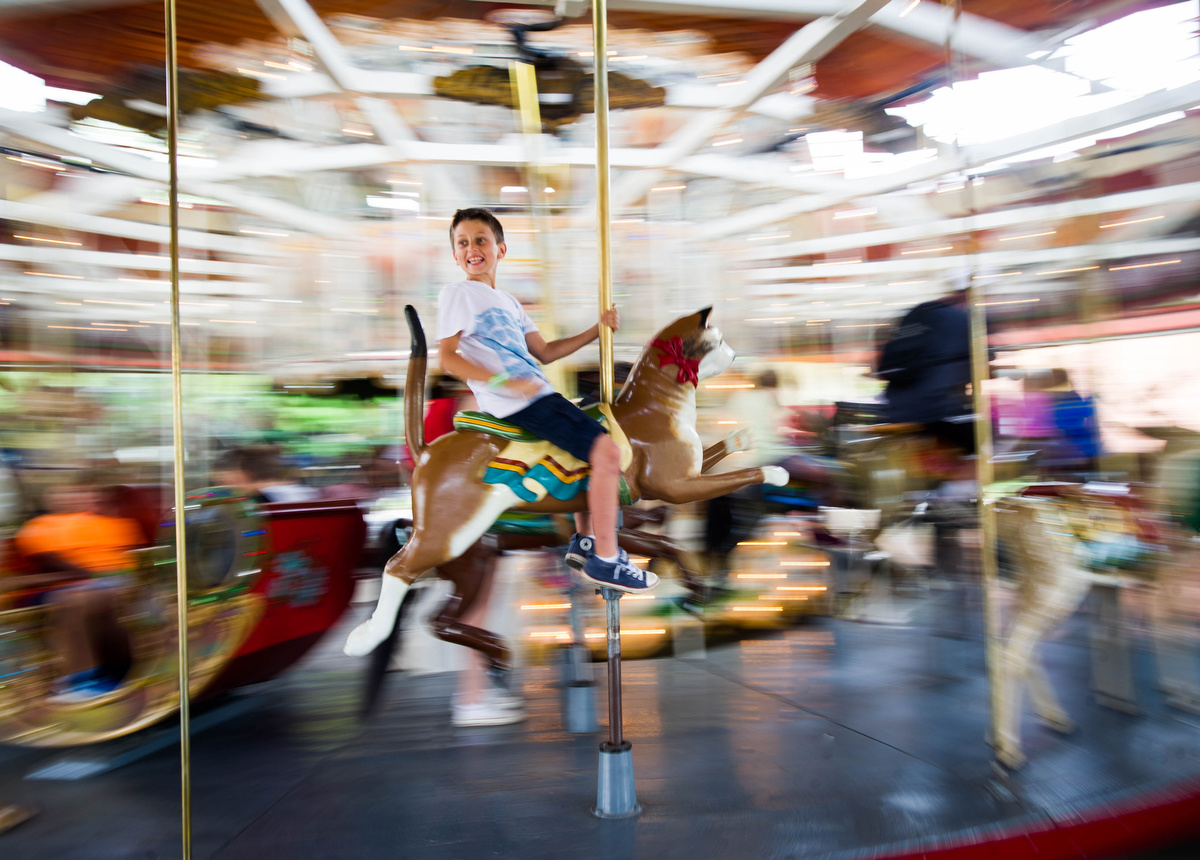 Merry-go-round at Greenfield Village