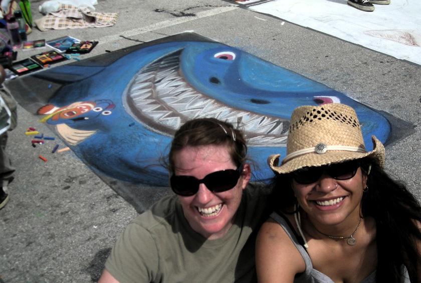 Lake Worth St Painting, 2008