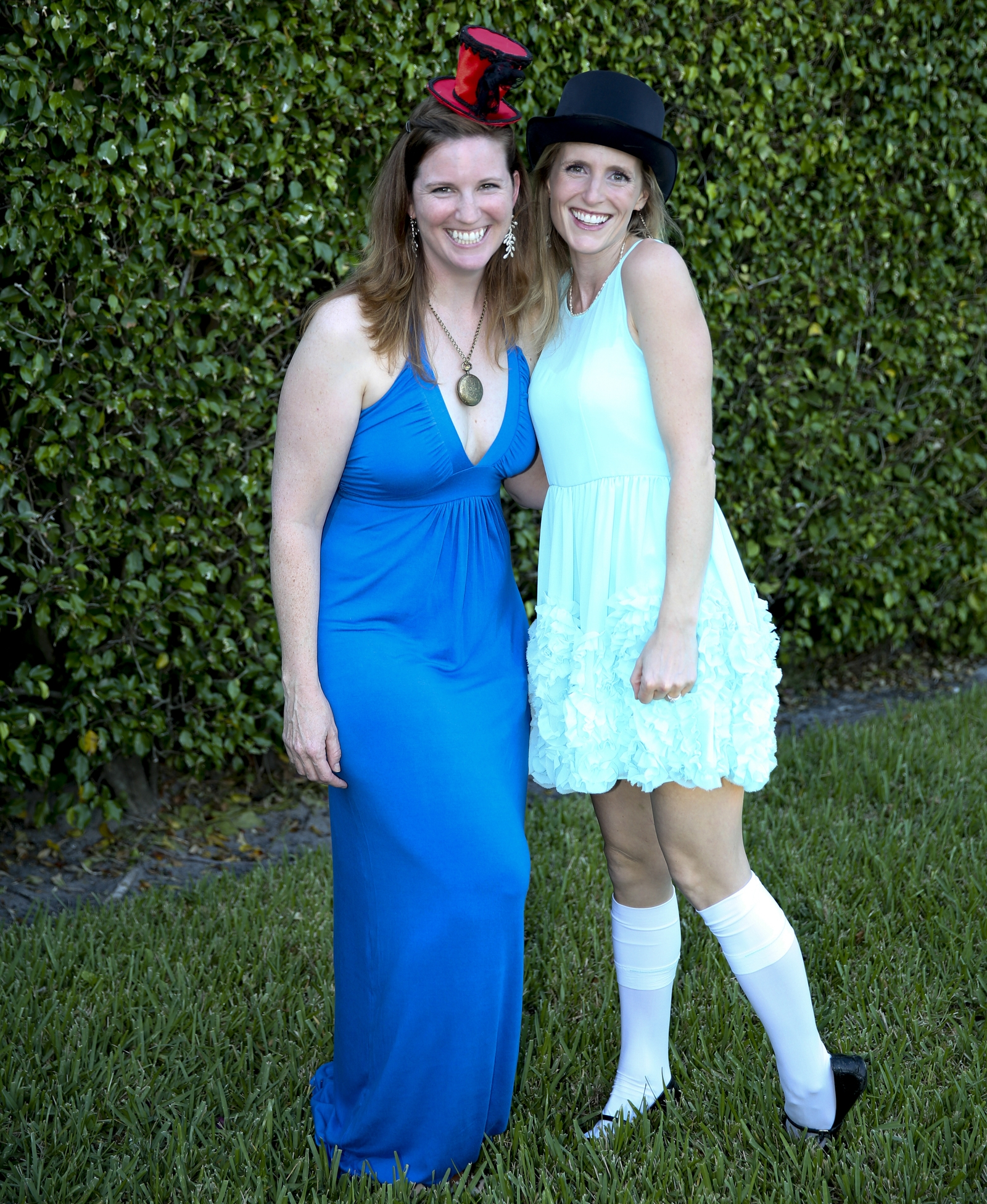 Libby's Mad Hatter themed engagement party