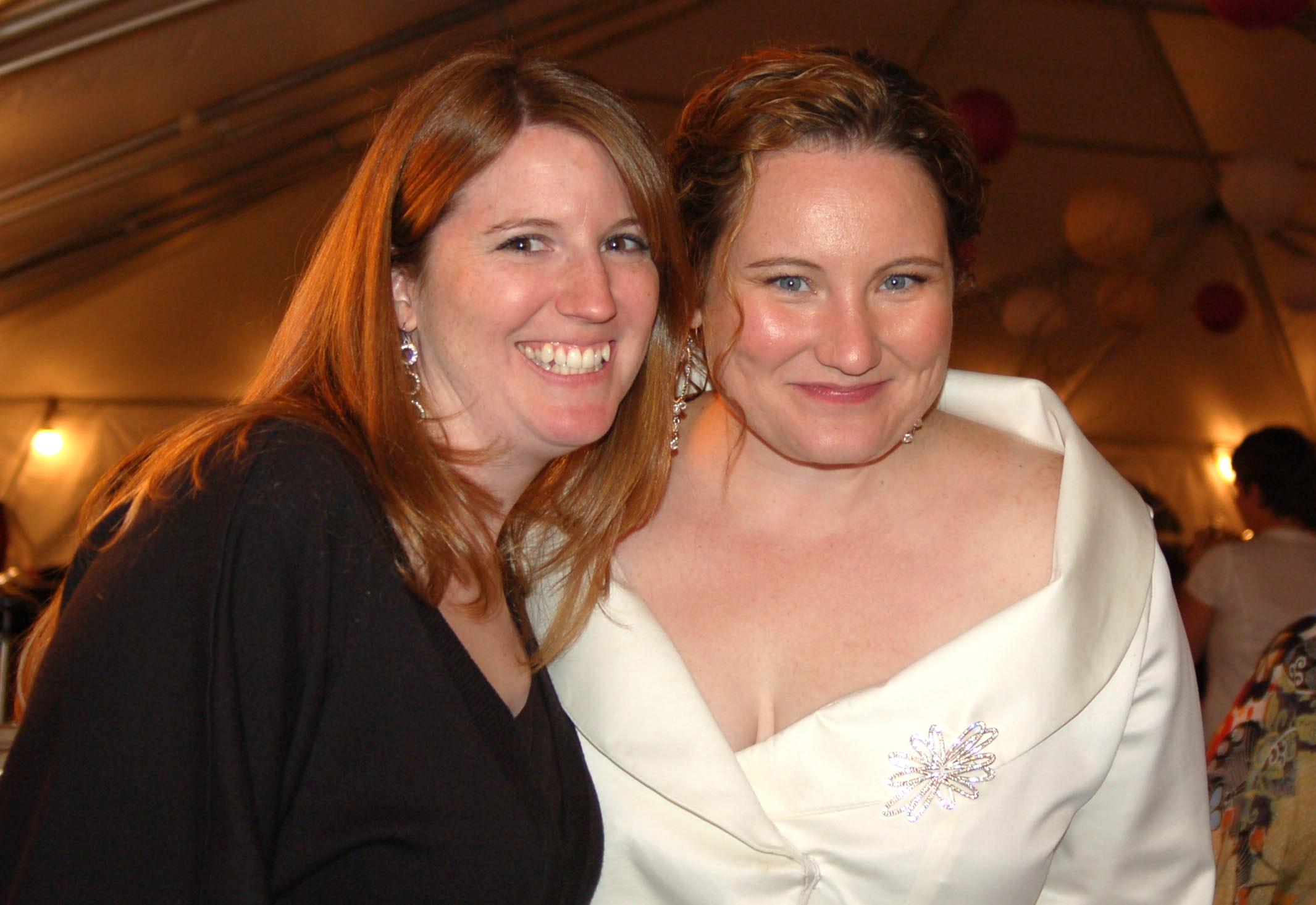 Mo's wedding day! 2008