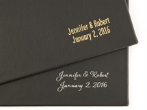 front cover stamping