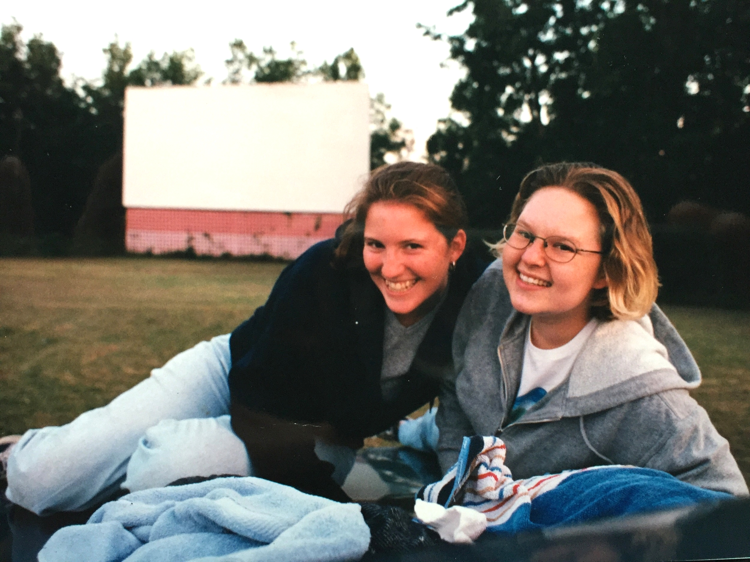 Summer 1999 at the drive in