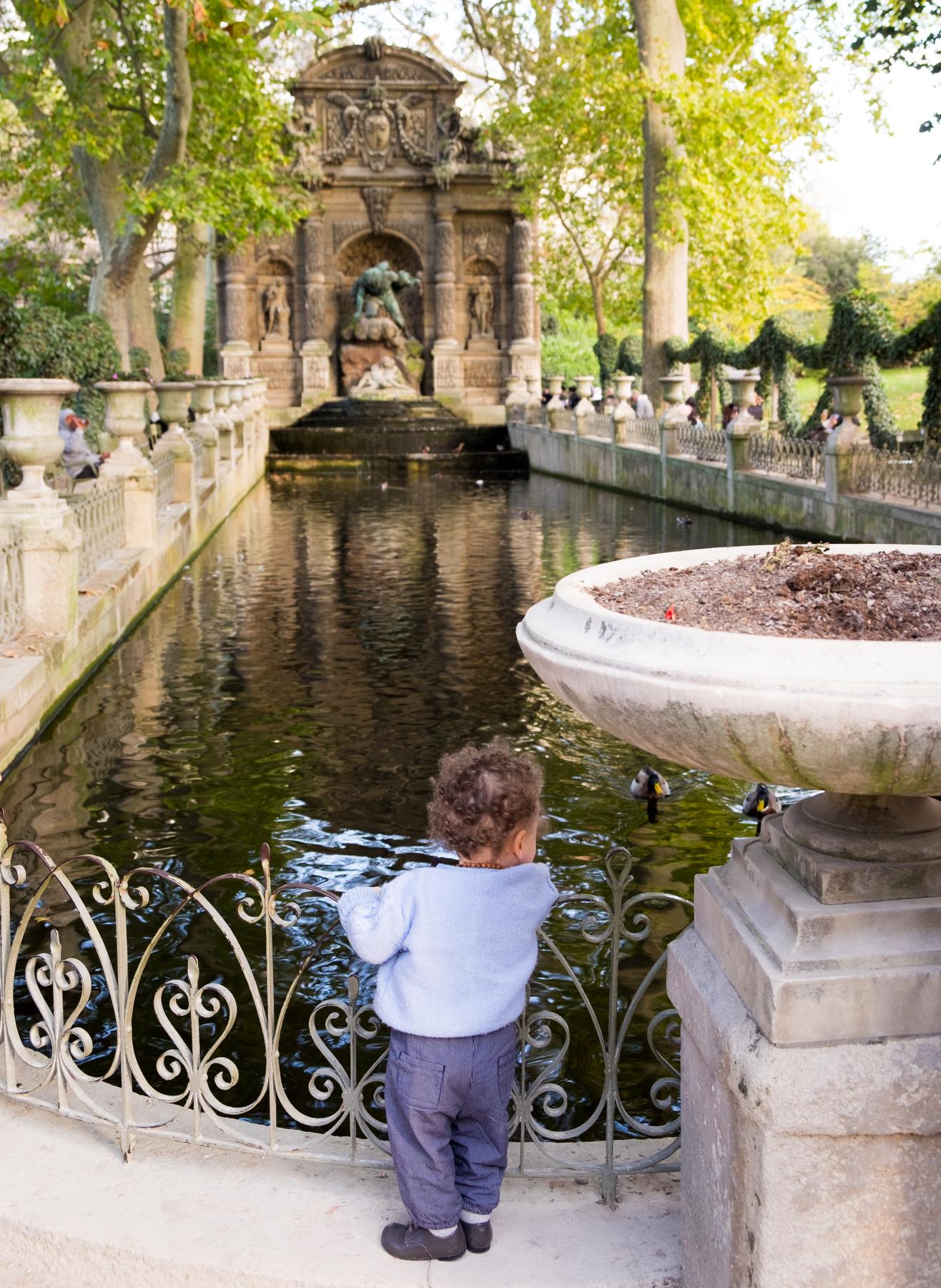 Paris'  Jardin du Luxembourg