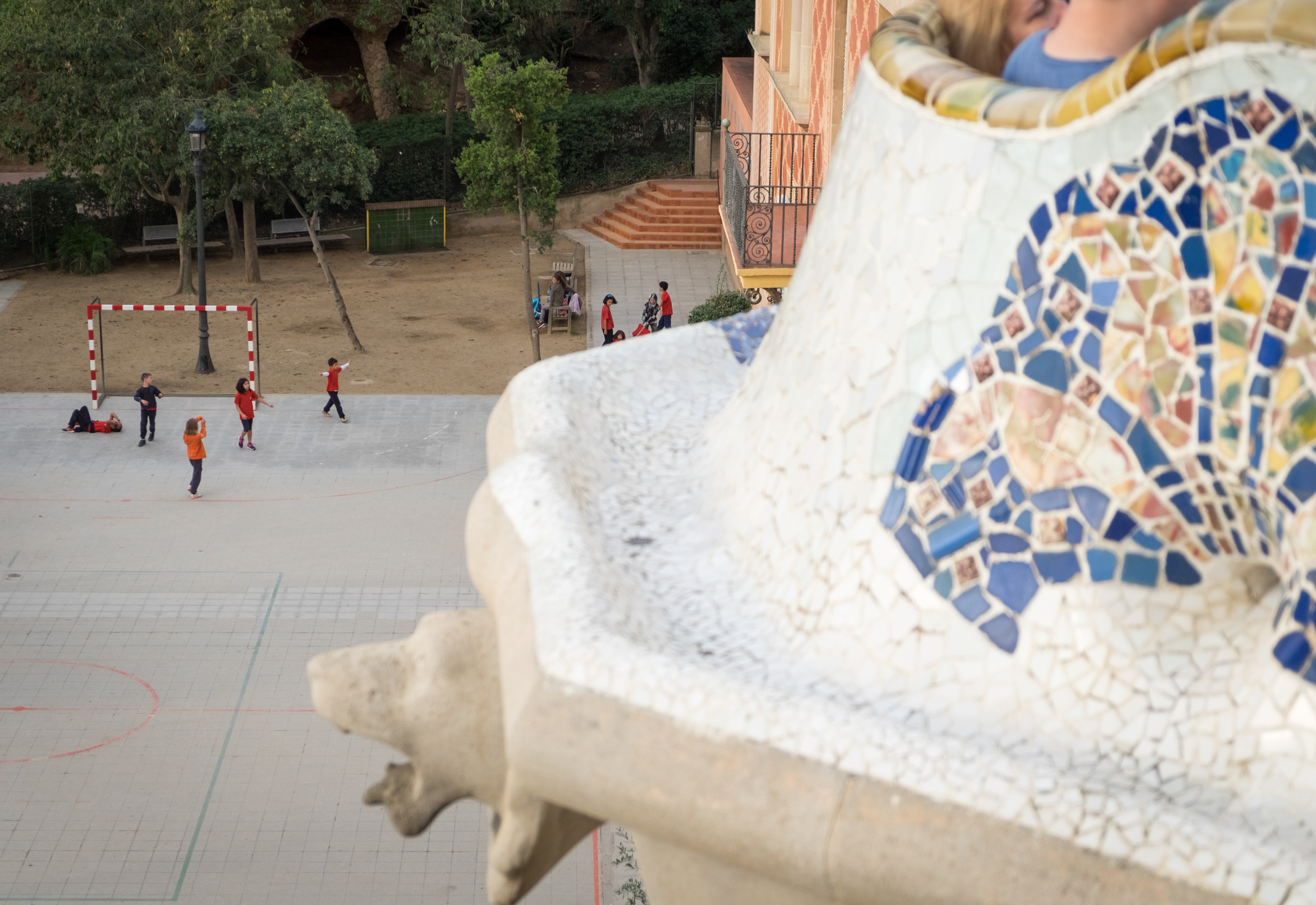 Imagine attending a school located to a place like Park Guell