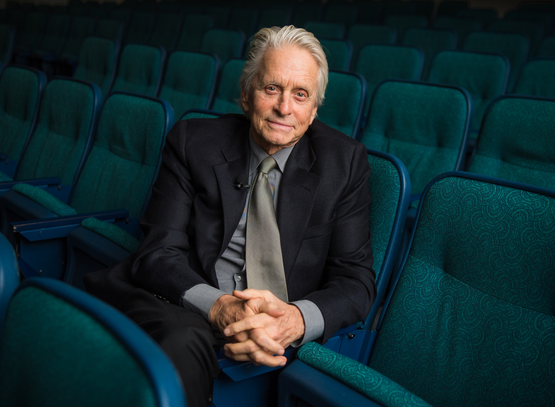 Academy Award-winning actor and producer Michael Douglas was awarded with the Bette Davis Lifetime Achievement Award by The Howard Gotlieb Archival Research Center and the Bette Davis Foundation November 28, 2018 at the GSU.