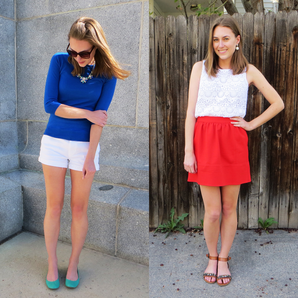 White + bright colors for spring/summer -- Cotton Cashmere Cat Hair