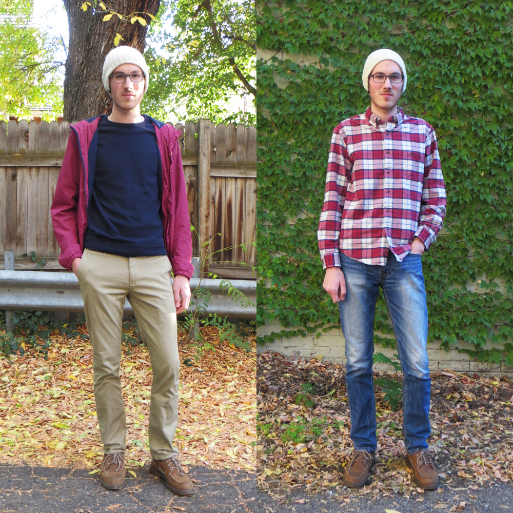 His grad student style for fall -- Cotton Cashmere Cat Hair