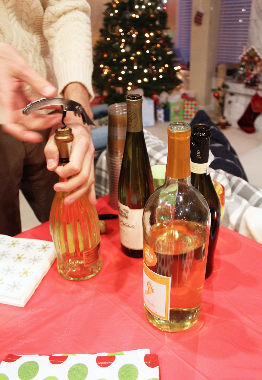 Friendsmas: Let the wine drinking commence! — Cotton Cashmere Cat Hair