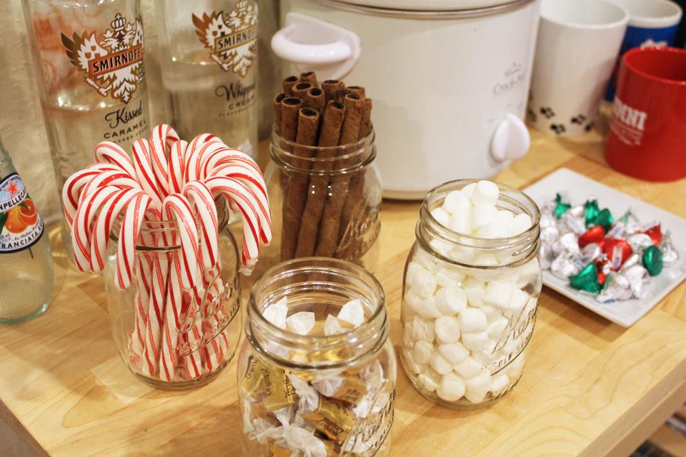 Friendsmas: Hot chocolate bar goodies — Cotton Cashmere Cat Hair