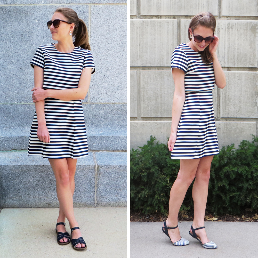 Worst purchase of 2015: Fashion Union striped crop dress — Cotton Cashmere Cat Hair