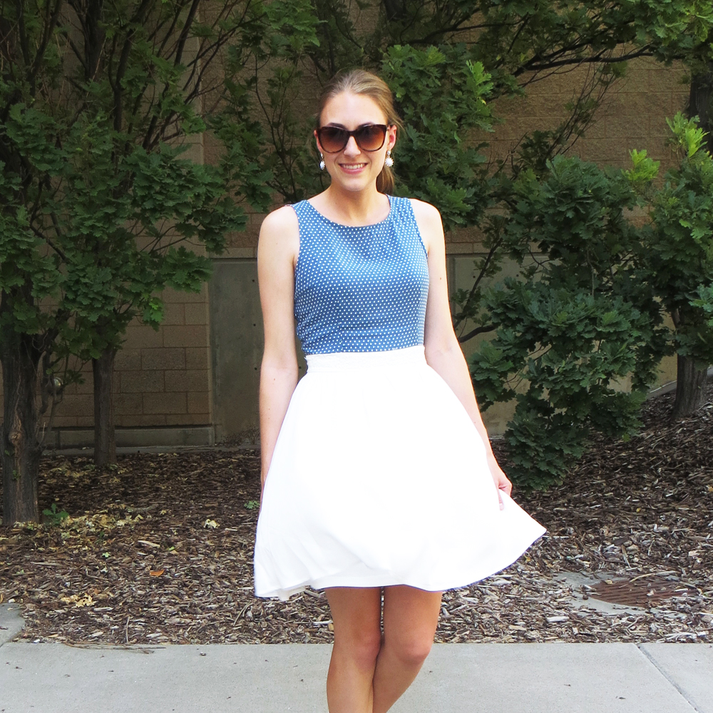 Worst purchase of 2015: ModCloth 'Cutie Like You' dress — Cotton Cashmere Cat Haie