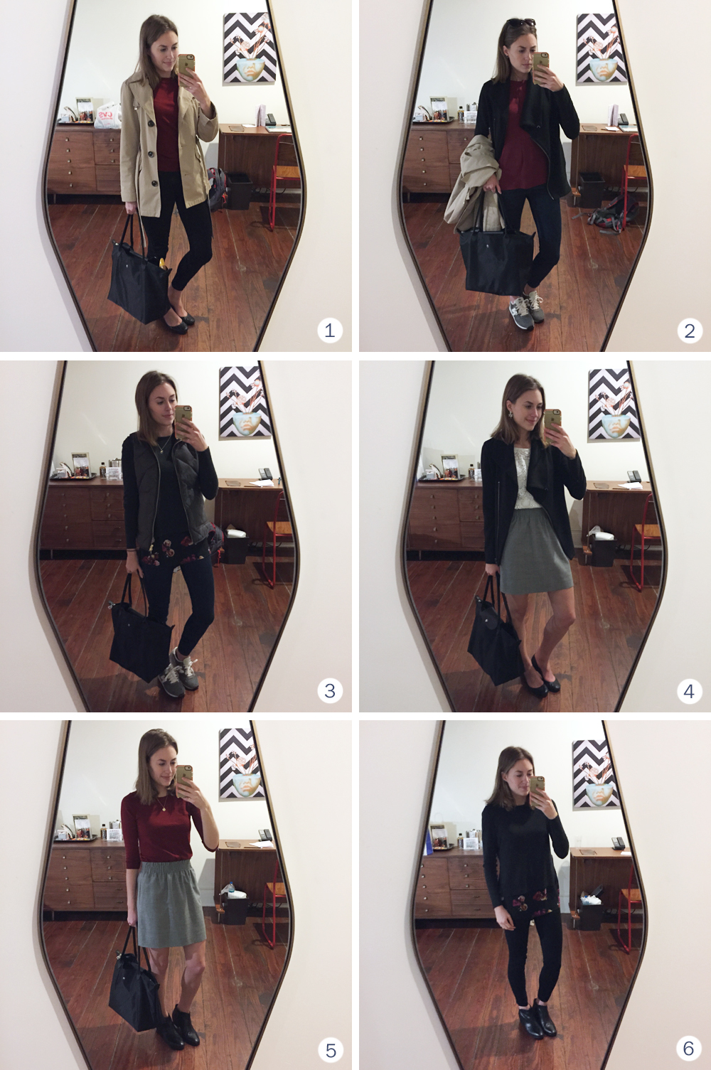 Six outfits to wear at an academic conference — Cotton Cashmere Cat Hair