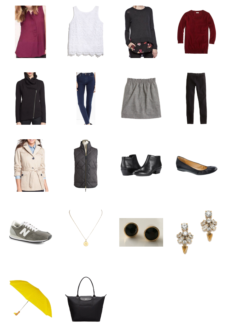 Stylebook packing list for an academic conference — Cotton Cashmere Cat Hair