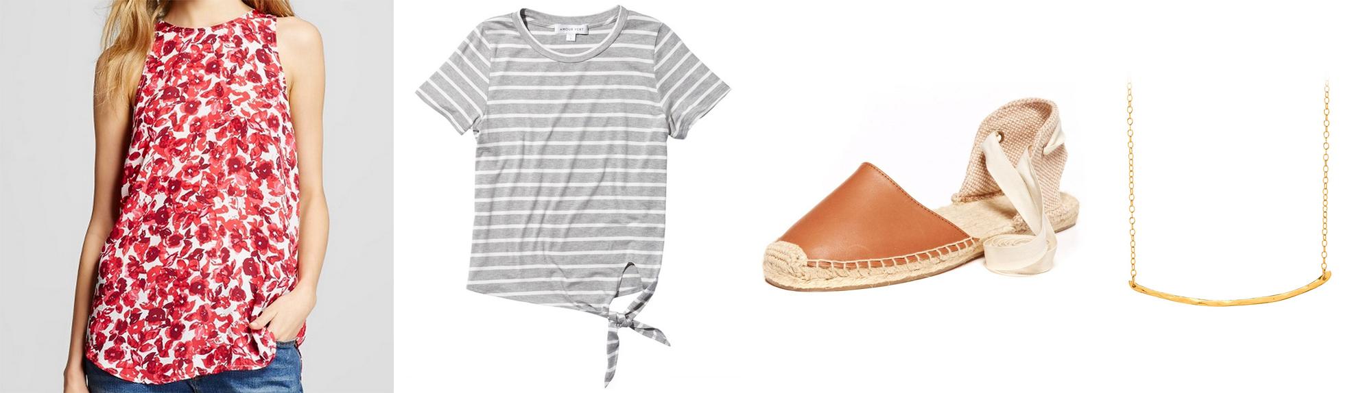 April 2016 wardrobe additions — via Cotton Cashmere Cat Hair