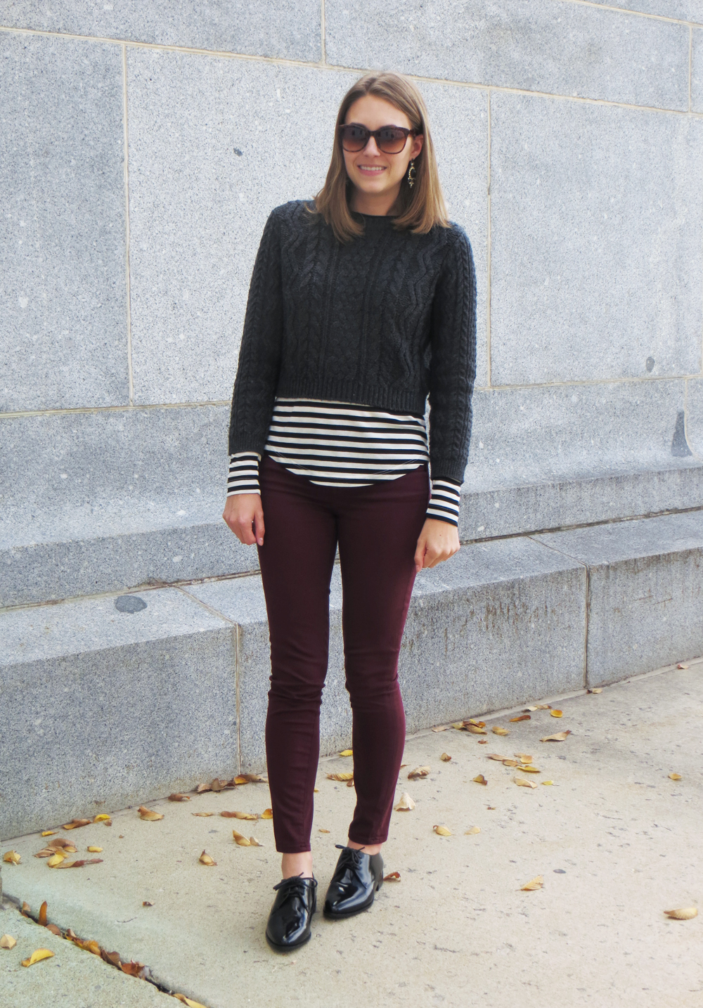 Shiny & striped