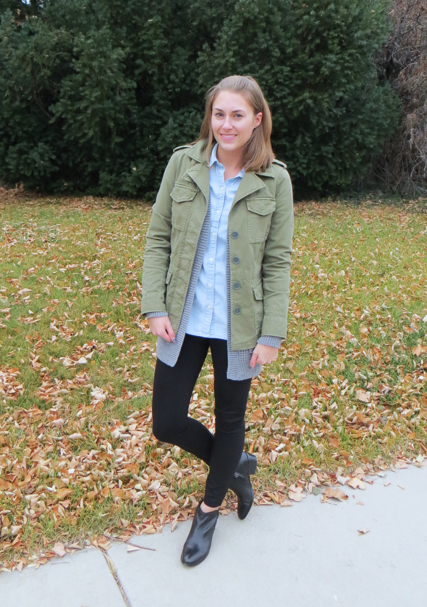 Outfit Re-creation: Zipped