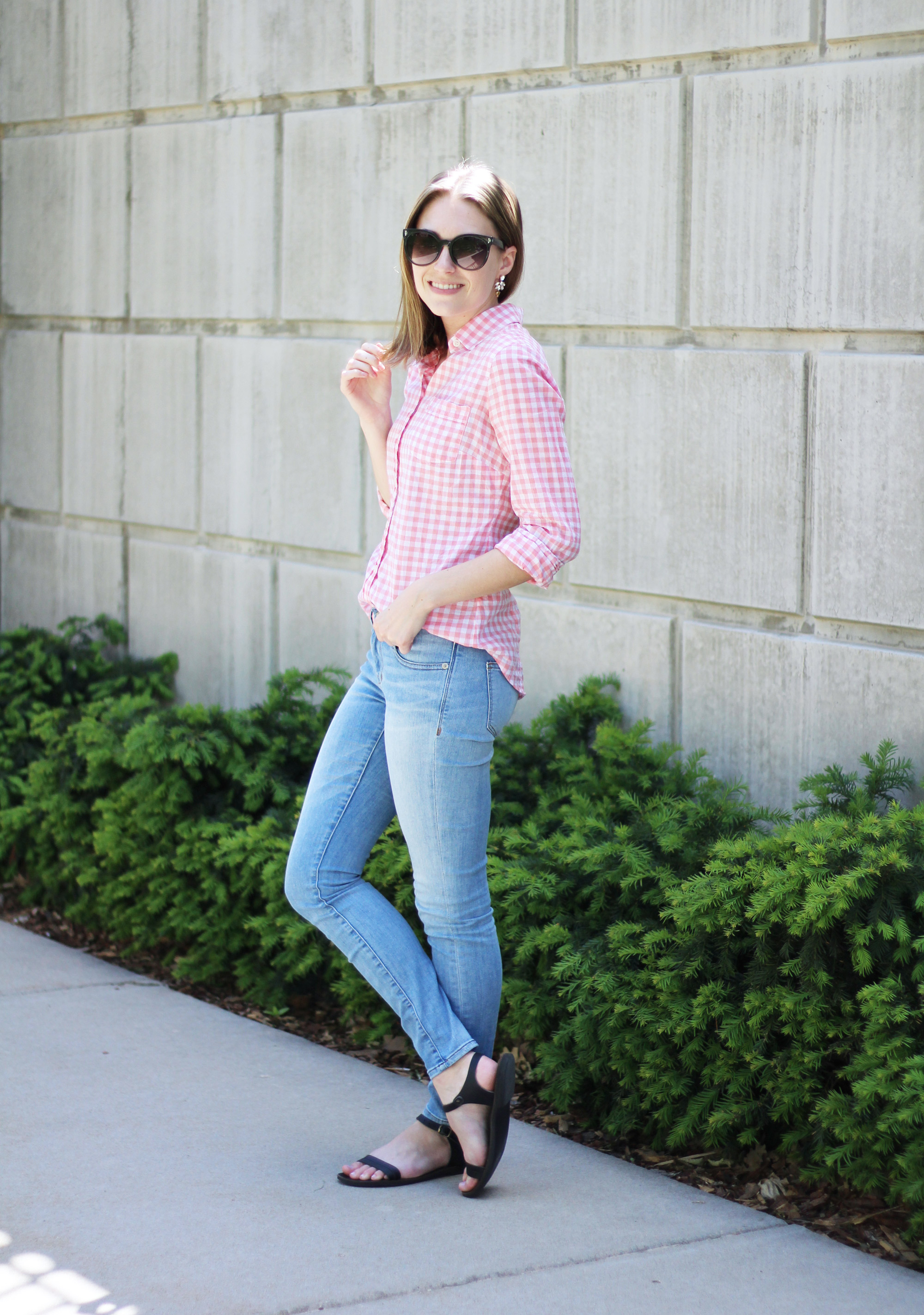 Gingham on repeat