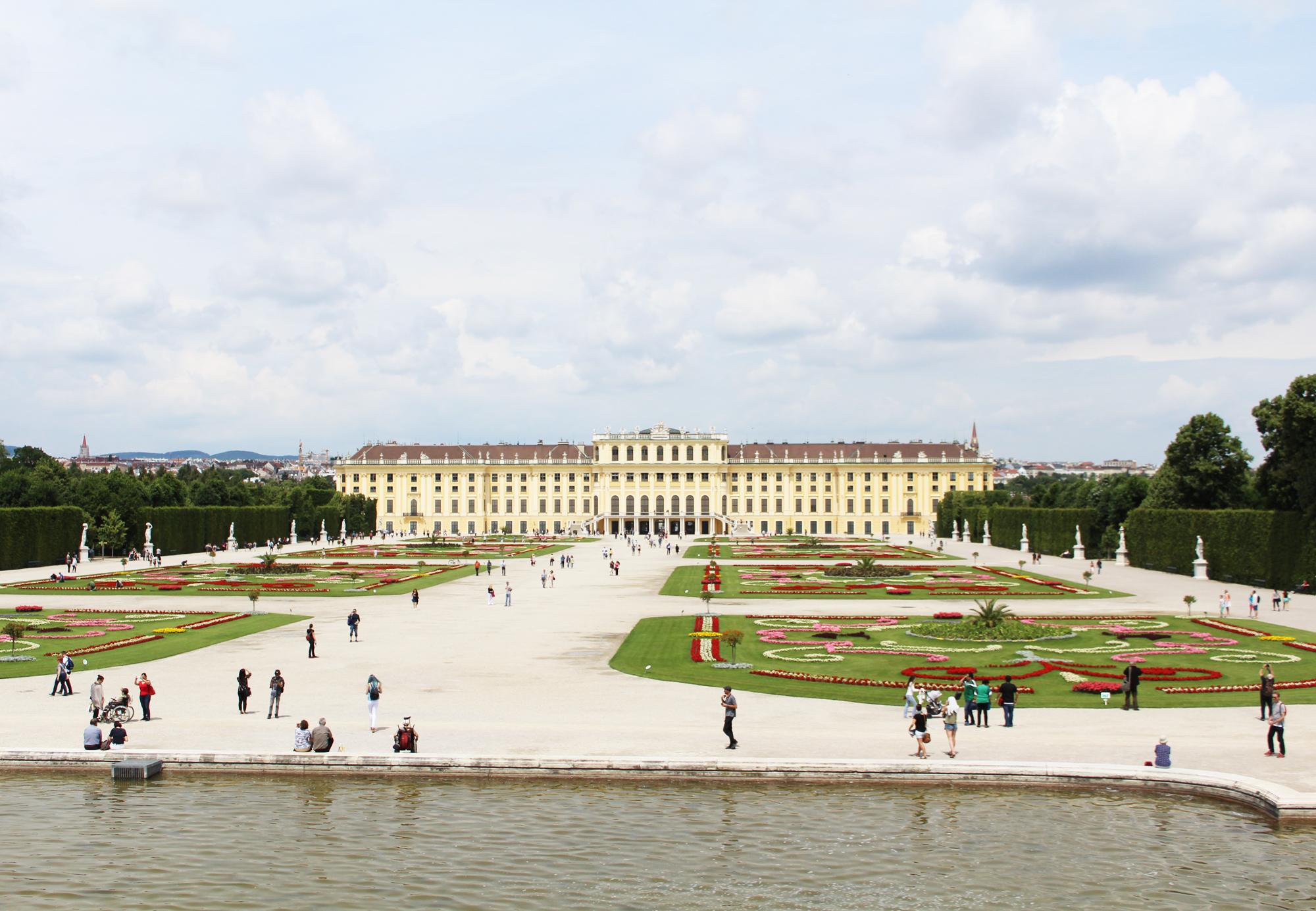 Schönbrunn Palace, Vienna Austria — via Cotton Cashmere Cat Hair