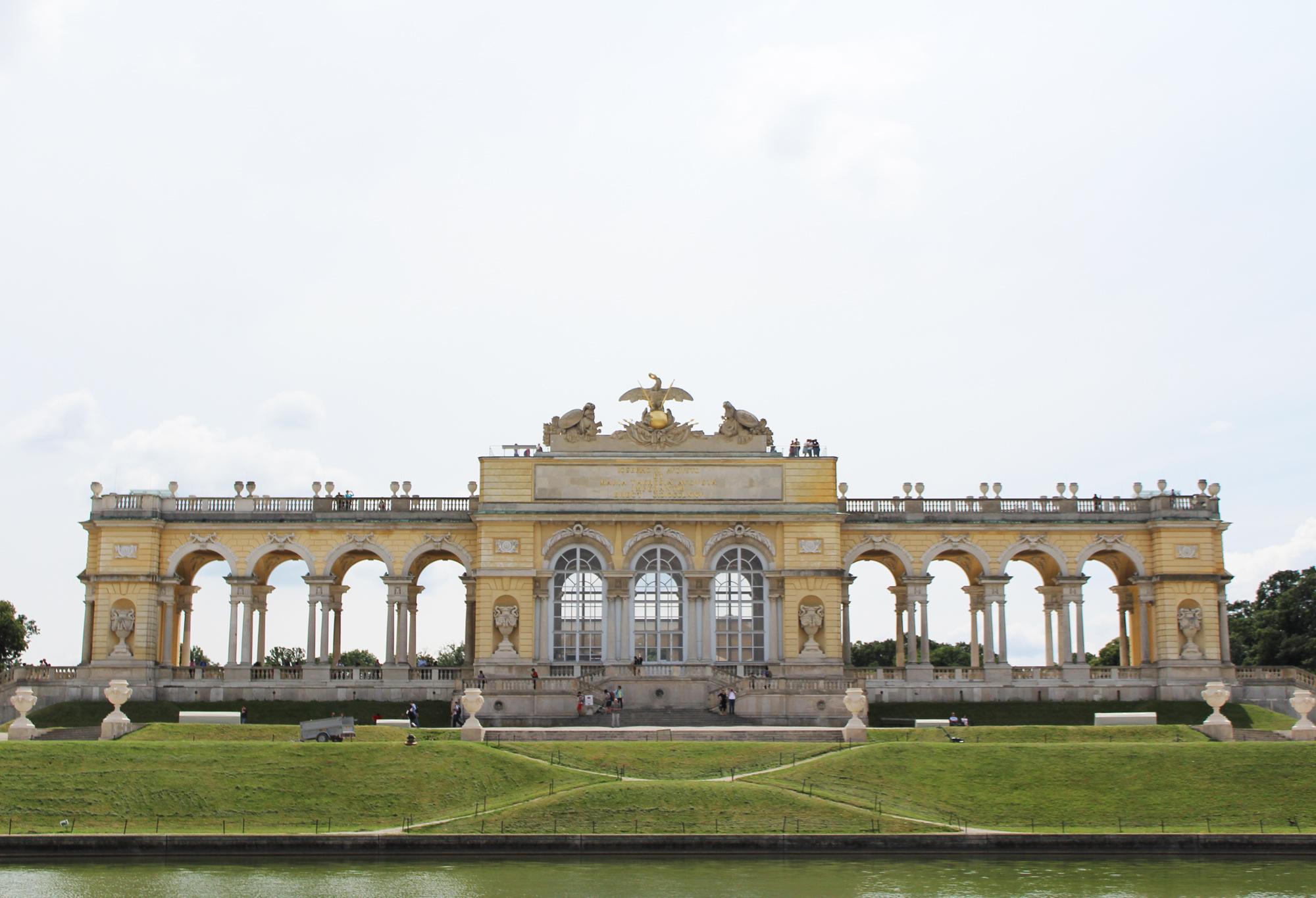 Gloriette at Schönbrunn Palace, Vienna, Austria — via Cotton Cashmere Cat Hair