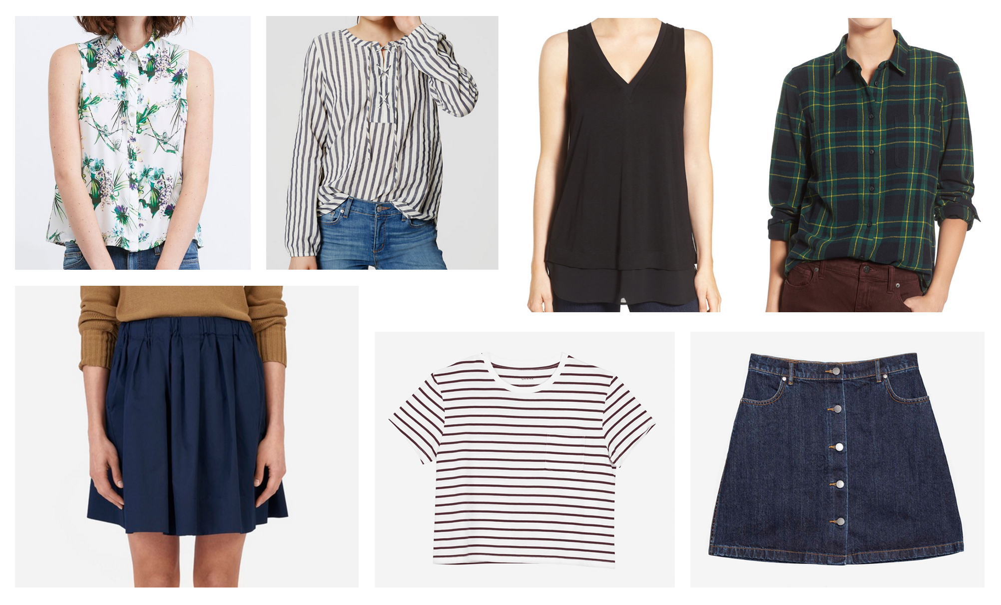 July 2016 wardrobe additions — Cotton Cashmere Cat Hair
