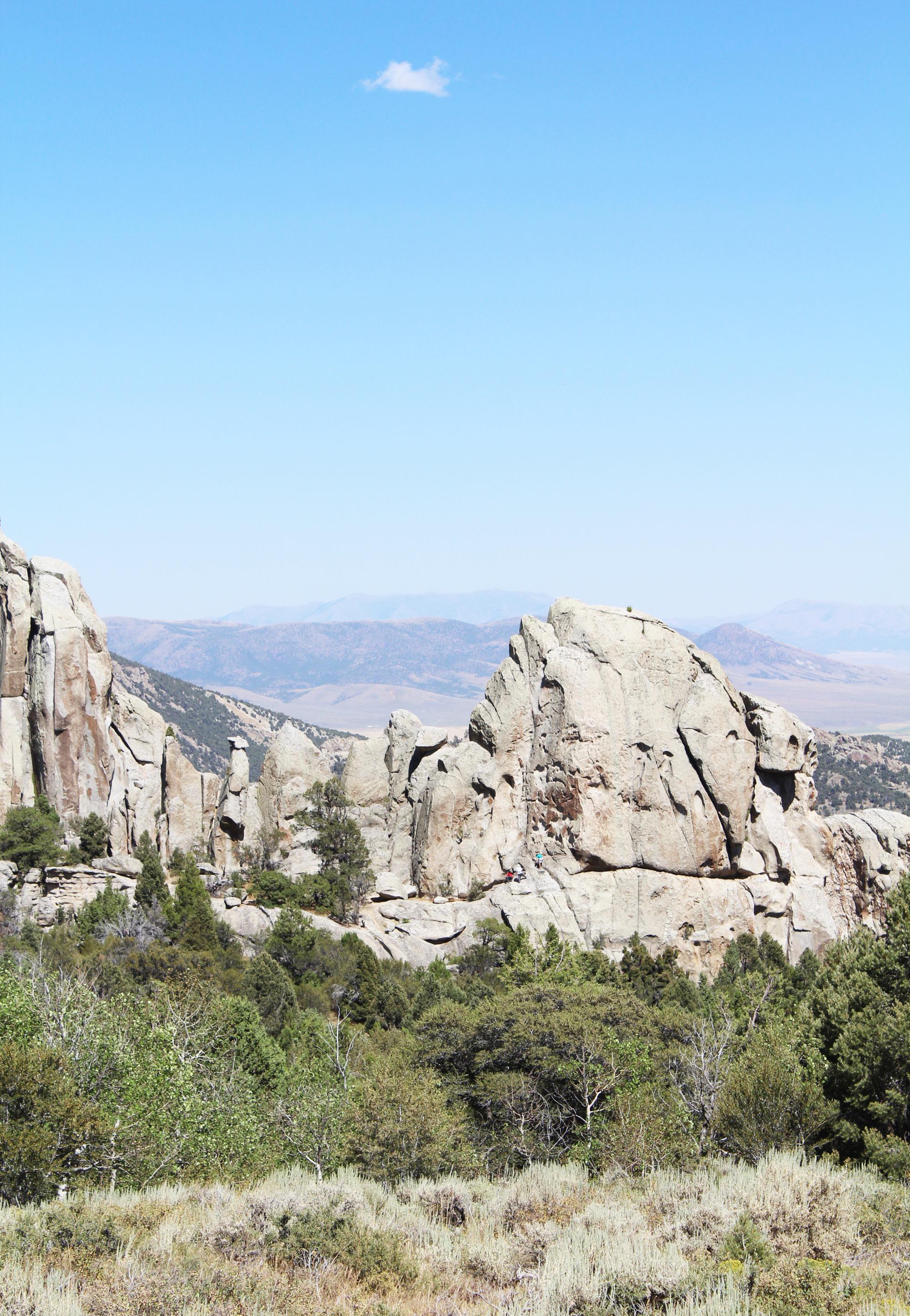 Rock climbers at City of Rocks National Reserve, Idaho — via Cotton Cashmere Cat Hair