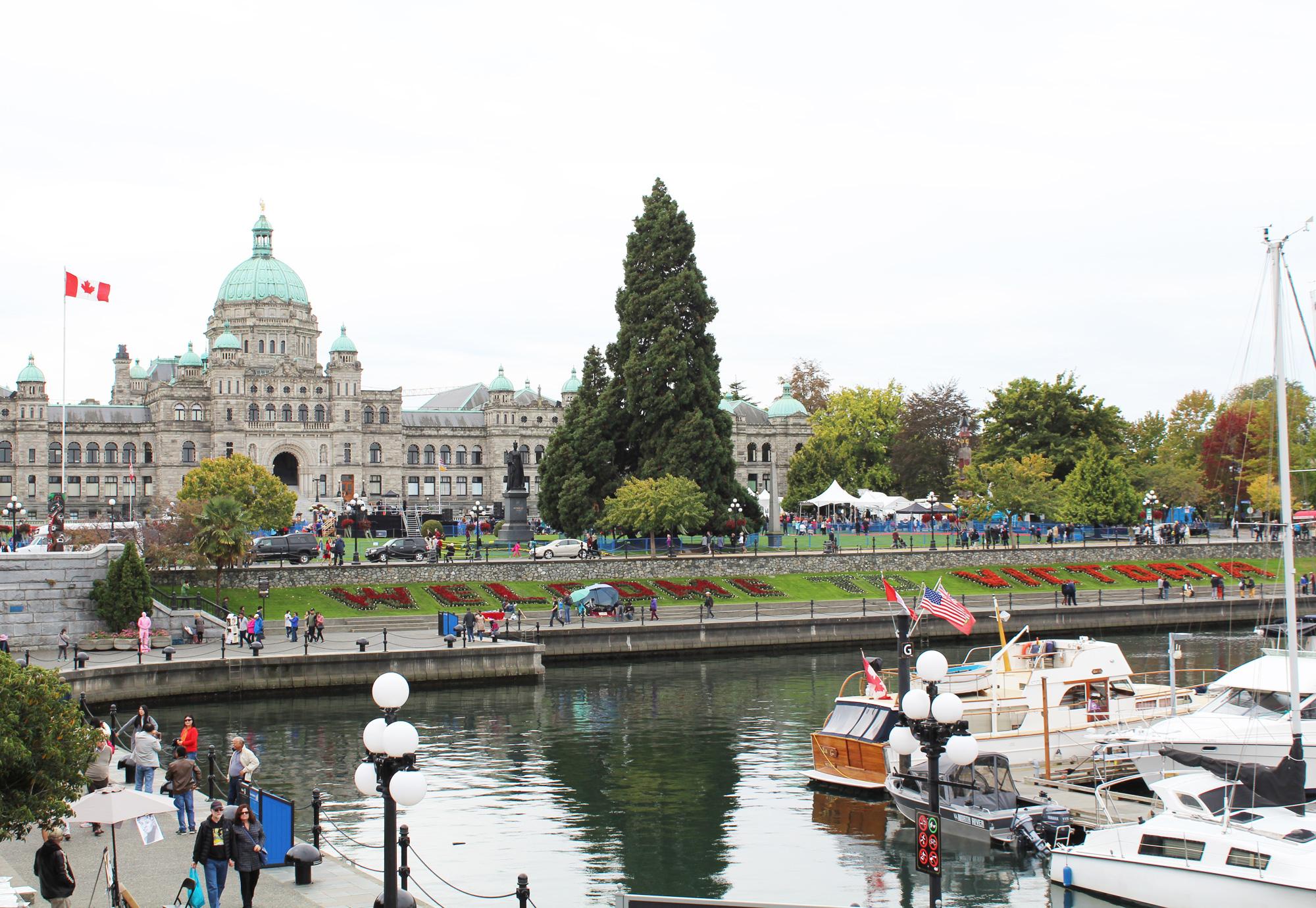 Victoria Harbour and Legislative Building, British Columbia — via Cotton Cashmere Cat Hair