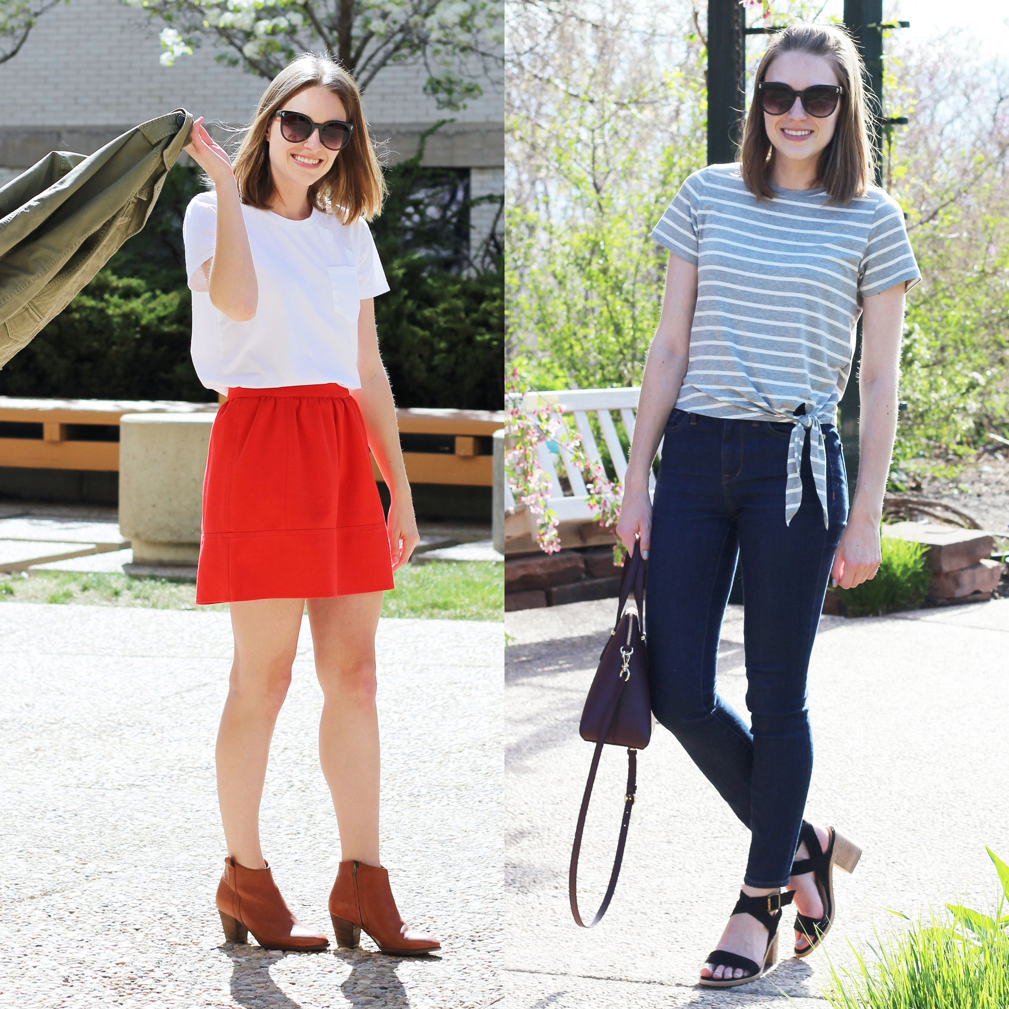 Favorite spring/summer outfits — Cotton Cashmere Cat Hair