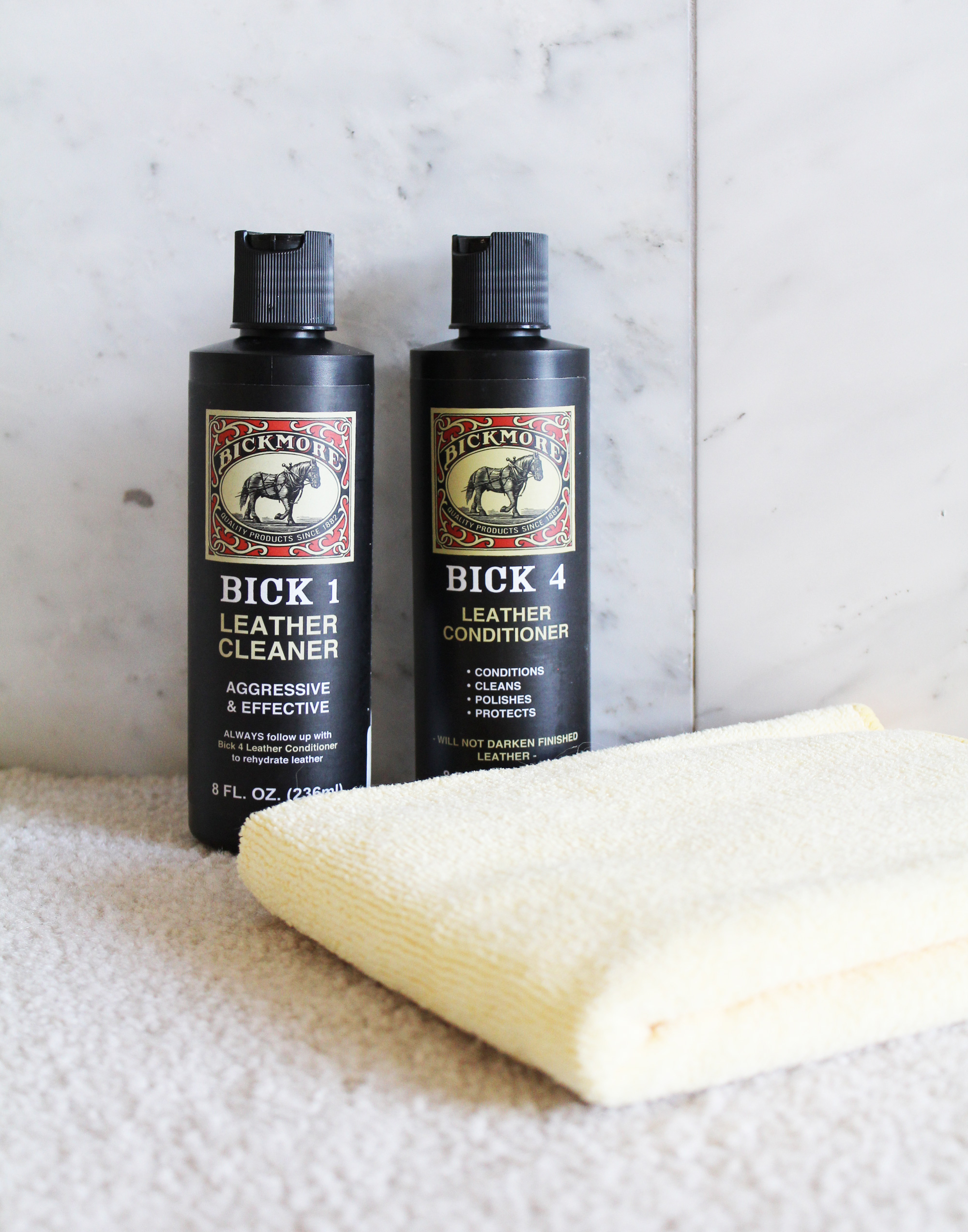 Leather care products — via Cotton Cashmere Cat Hair