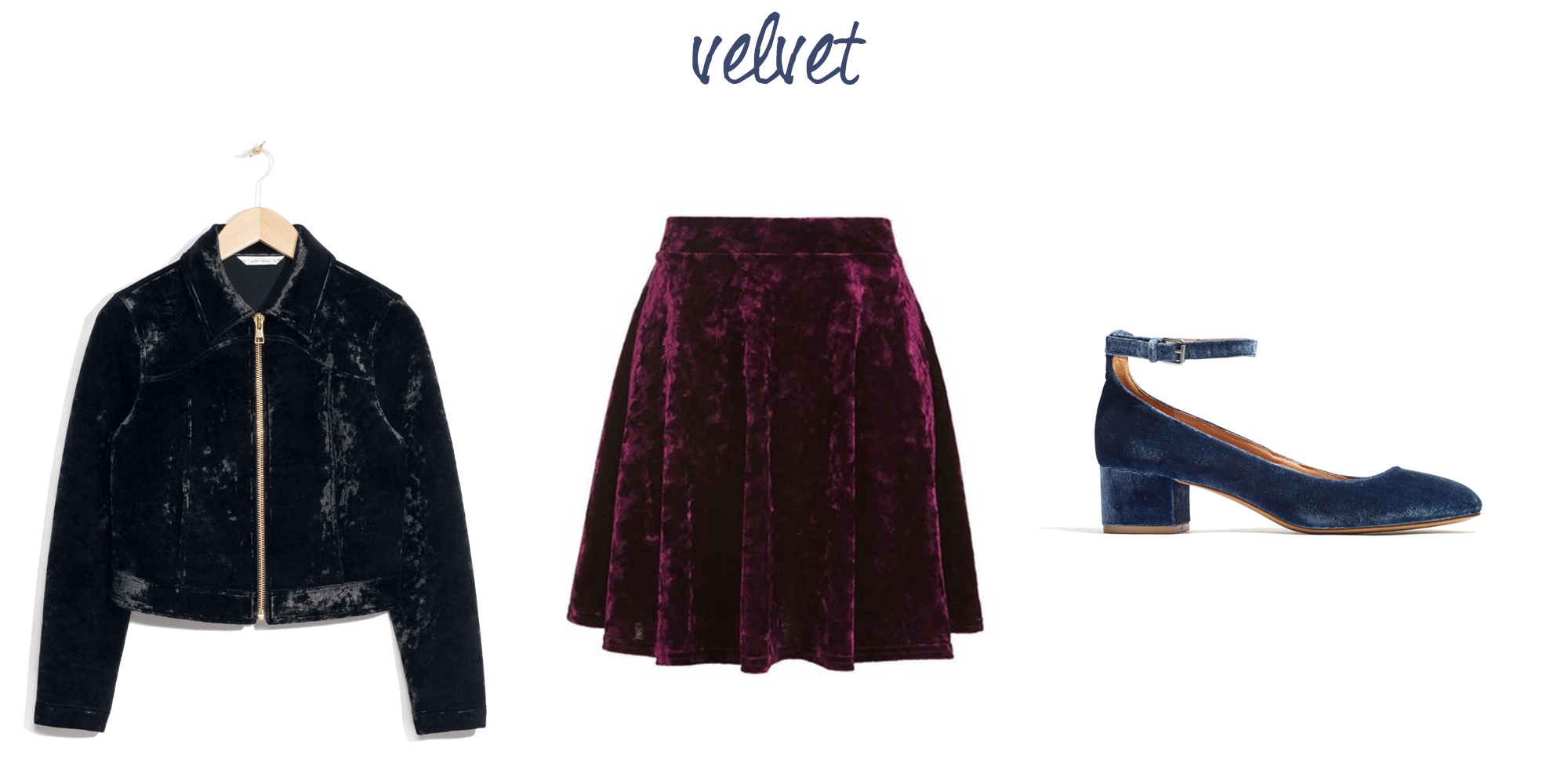 Trend to try: Velvet — via Cotton Cashmere Cat Hair