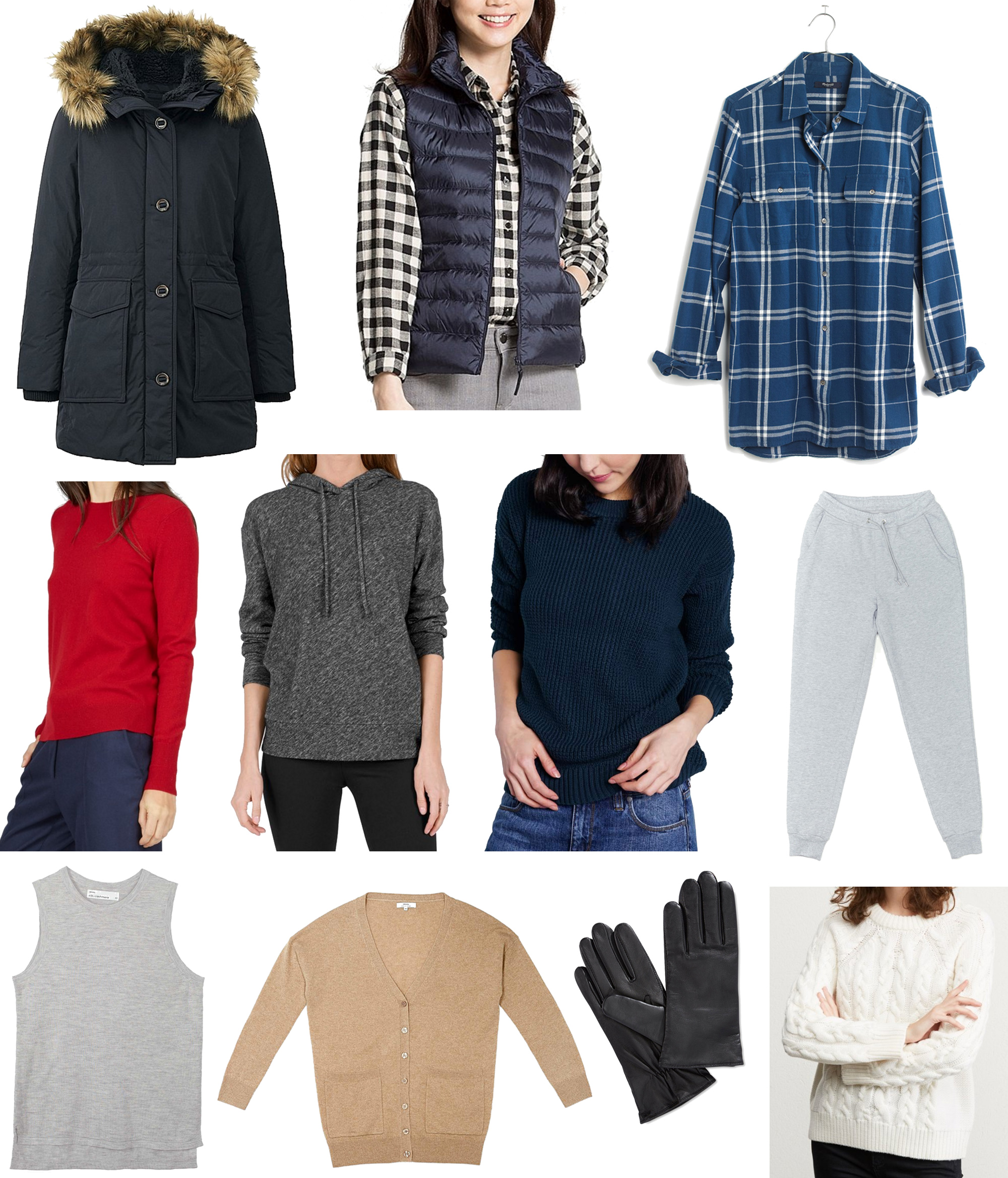 December 2016 wardrobe additions — Cotton Cashmere Cat Hair