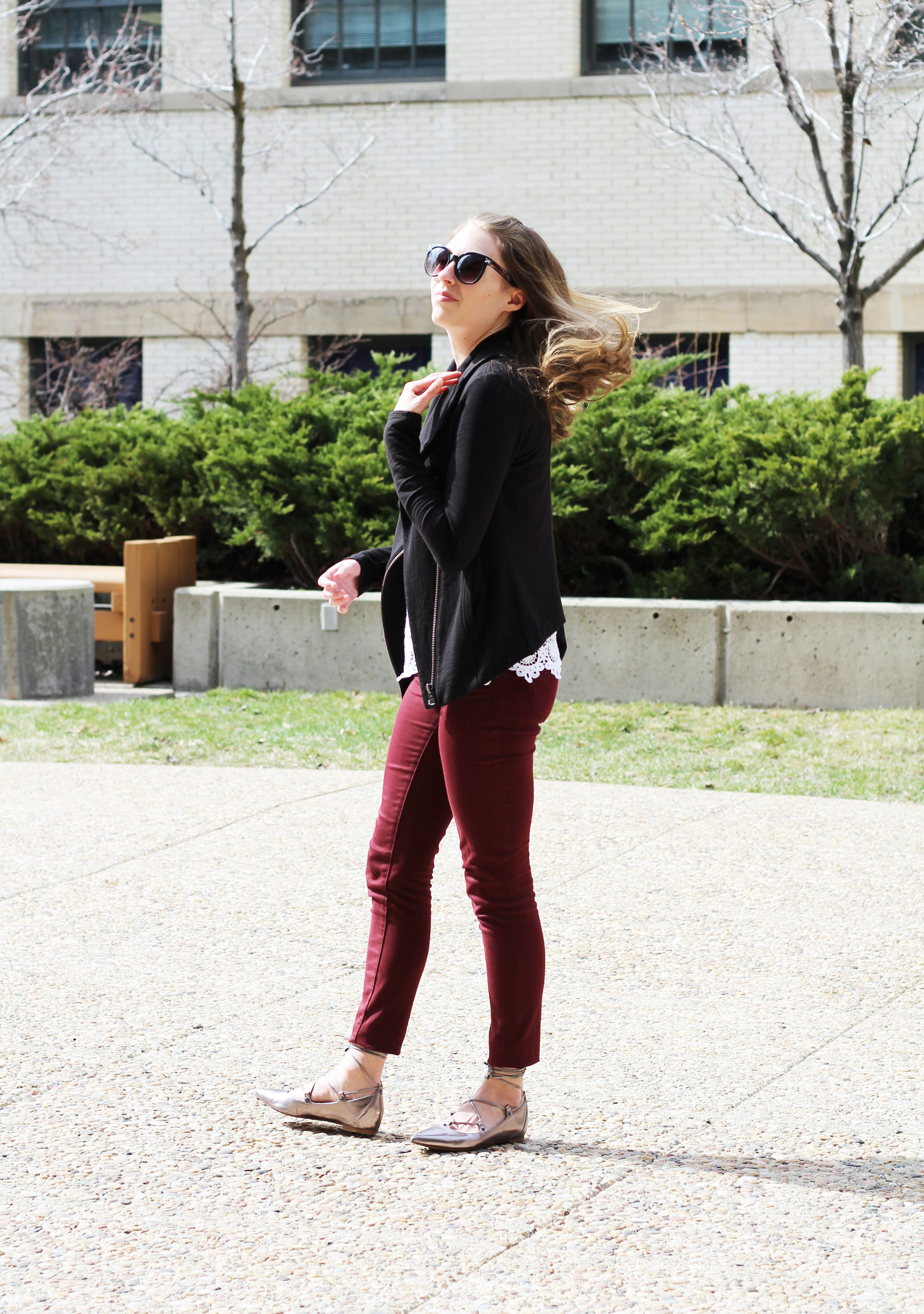Outfit outtake: Fancy basics — Cotton Cashmere Cat Hair