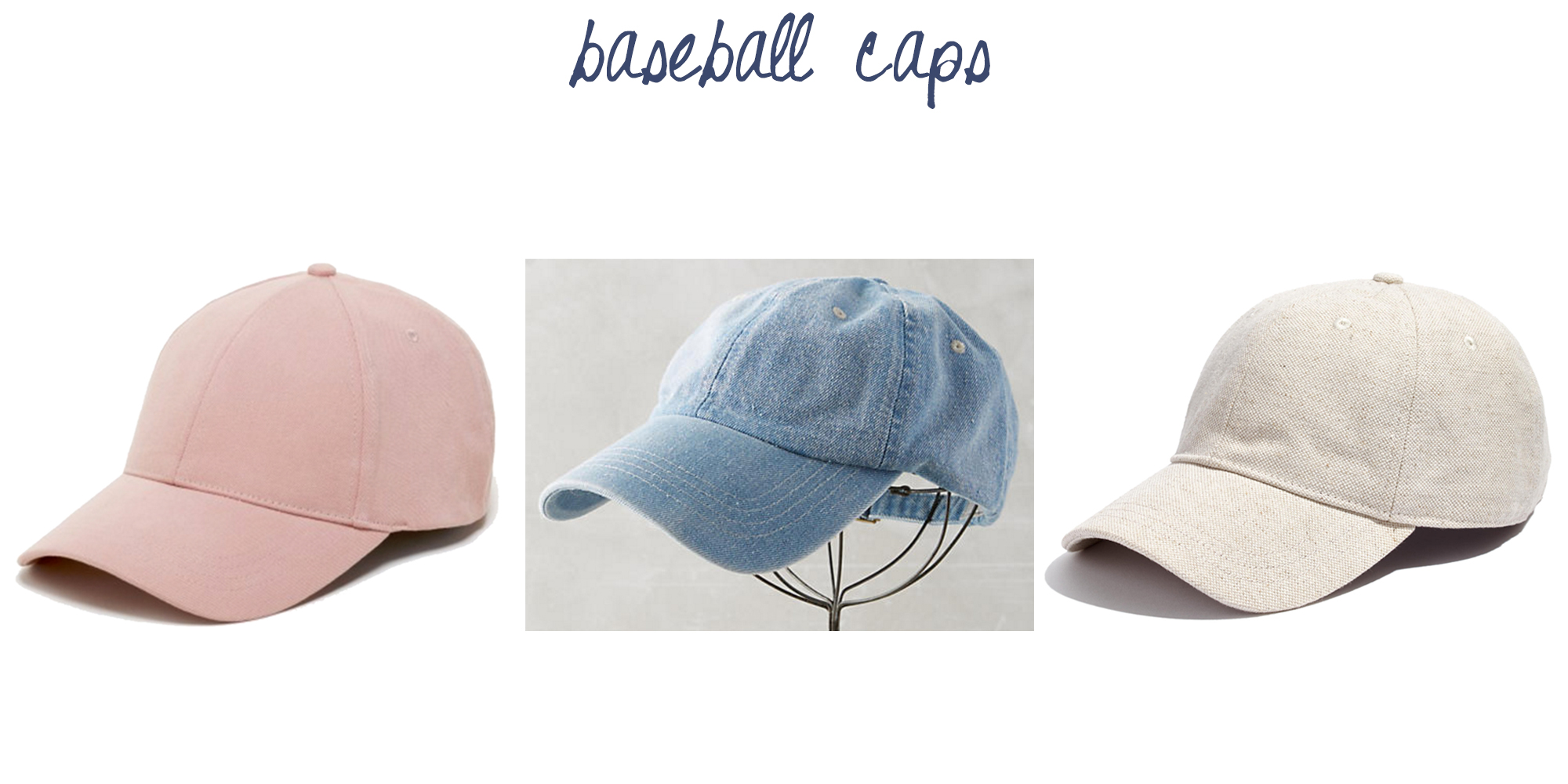 Trend to try: Baseball caps — via Cotton Cashmere Cat Hair