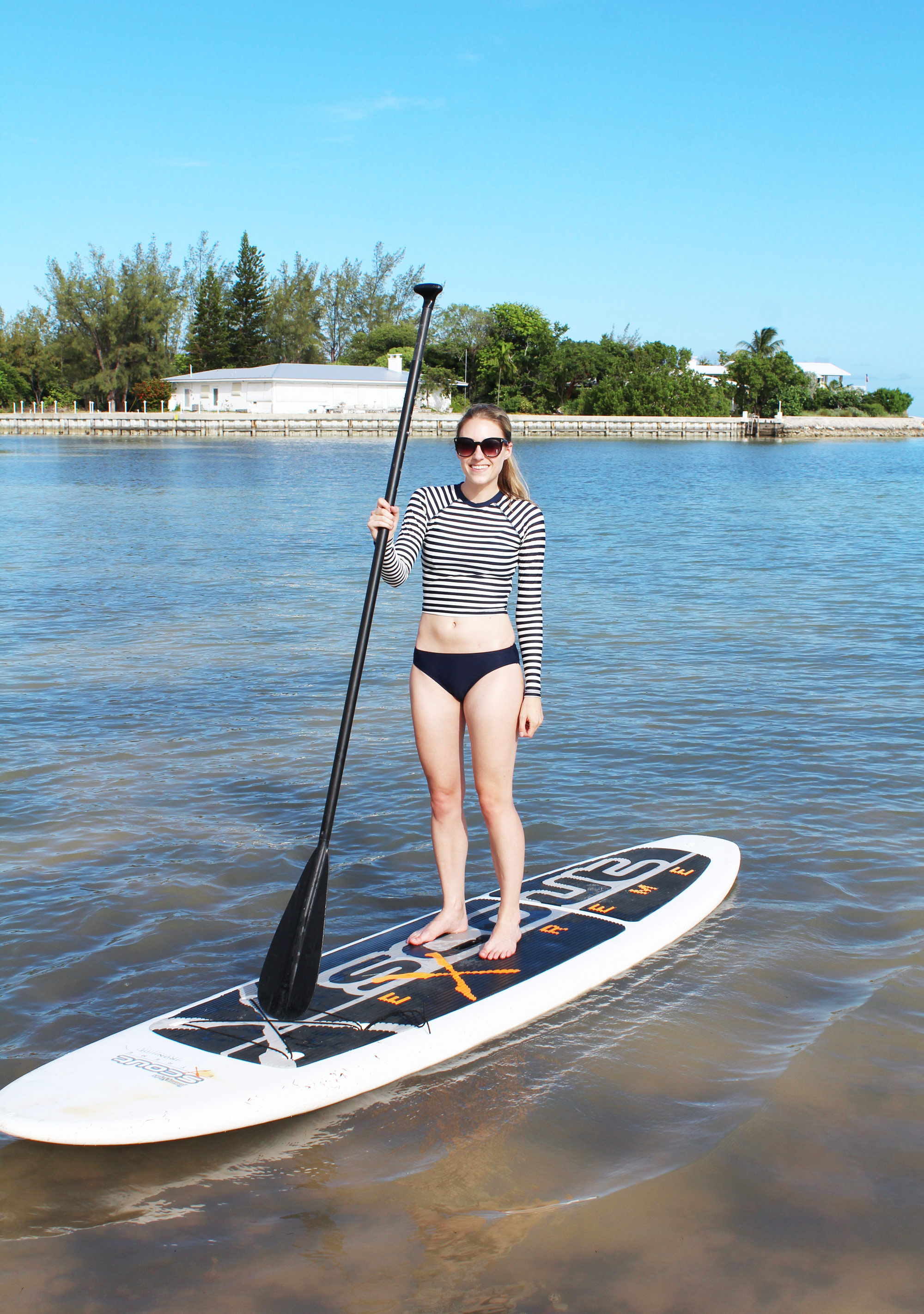 What to wear to stand up paddle board — Cotton Cashmere Cat Hair