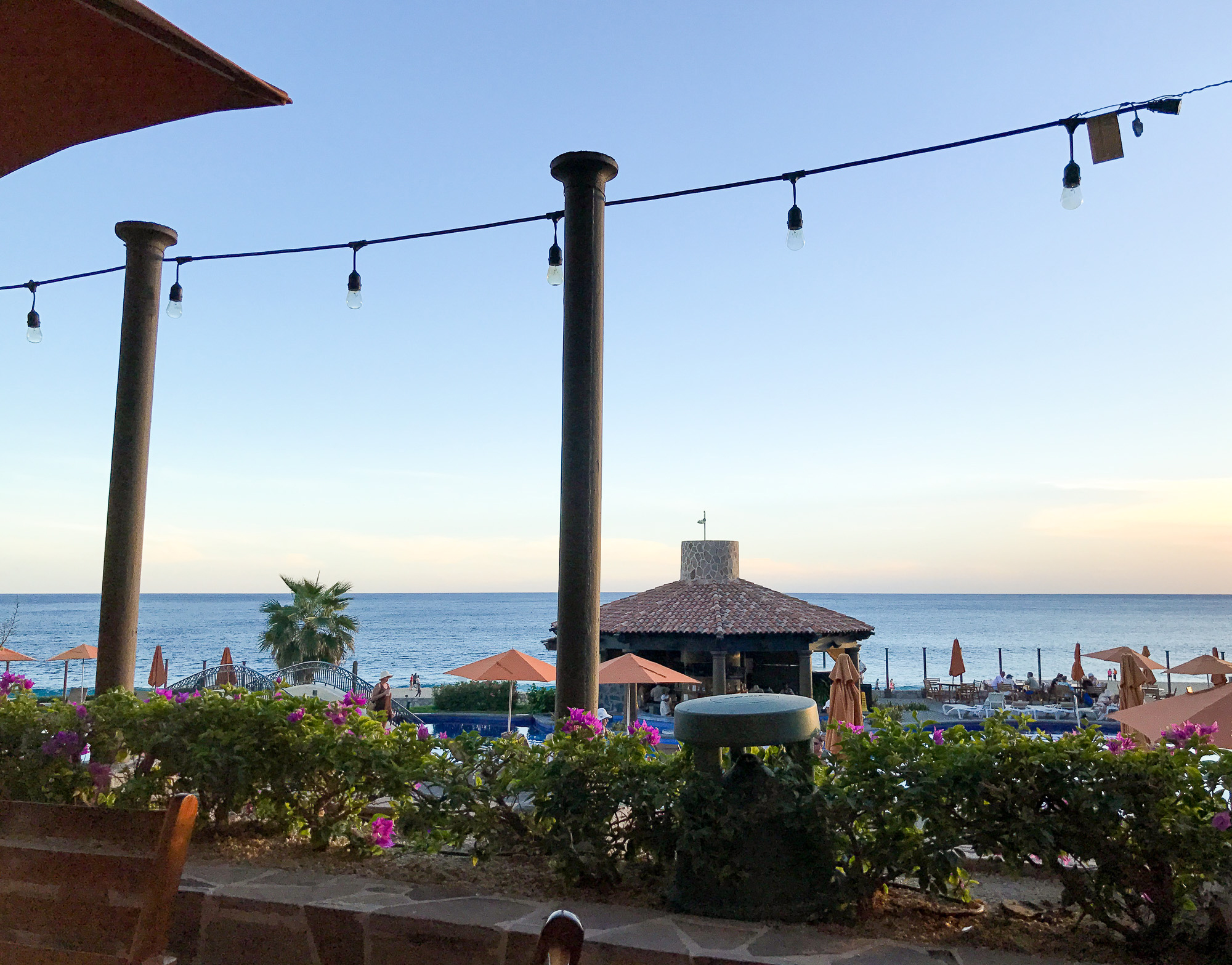 View of Pacific Ocean in the evening, Cabo San Lucas, Mexico — Cotton Cashmere Cat Hair