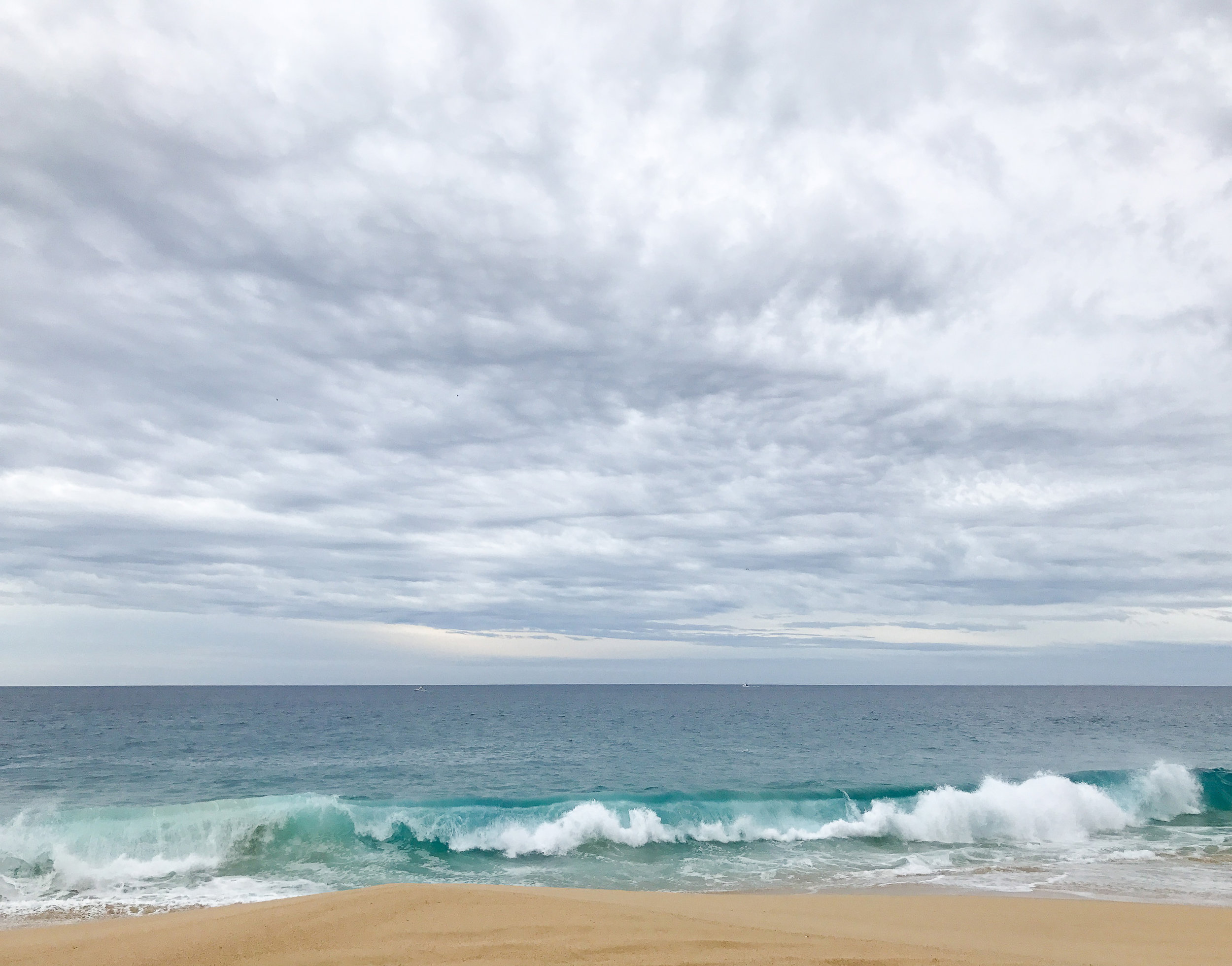 Clouds over the Pacific Ocean, Cabo San Lucas, Mexico — Cotton Cashmere Cat Hair
