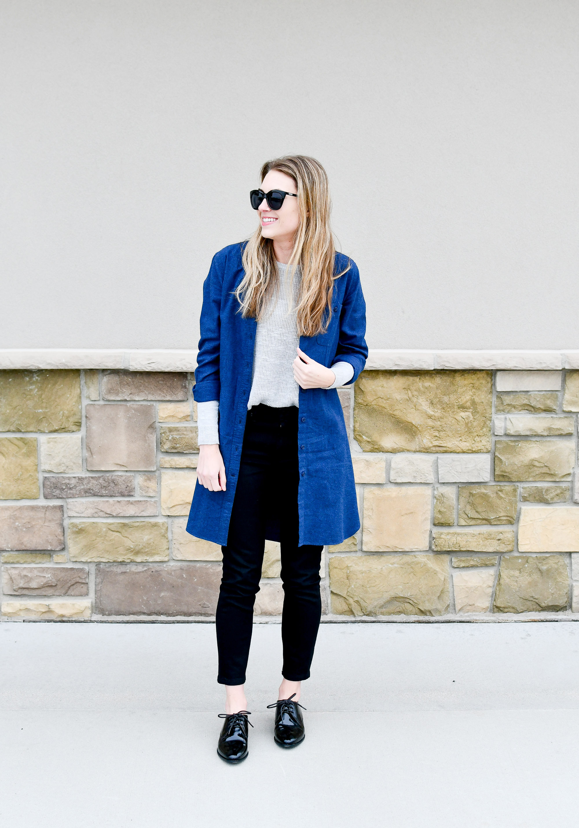 Dress to duster — Cotton Cashmere Cat Hair