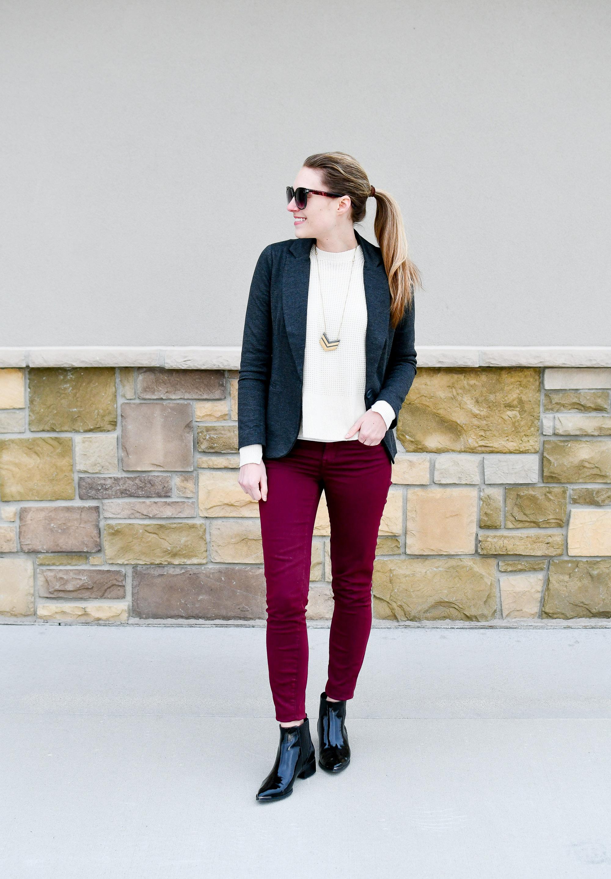 Winter wardrobe rut — Cotton Cashmere Cat Hair