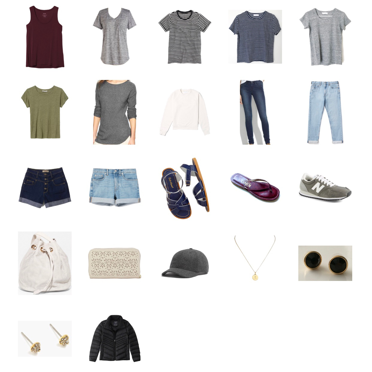 10-day summer road trip packing list — Cotton Cashmere Cat Hair