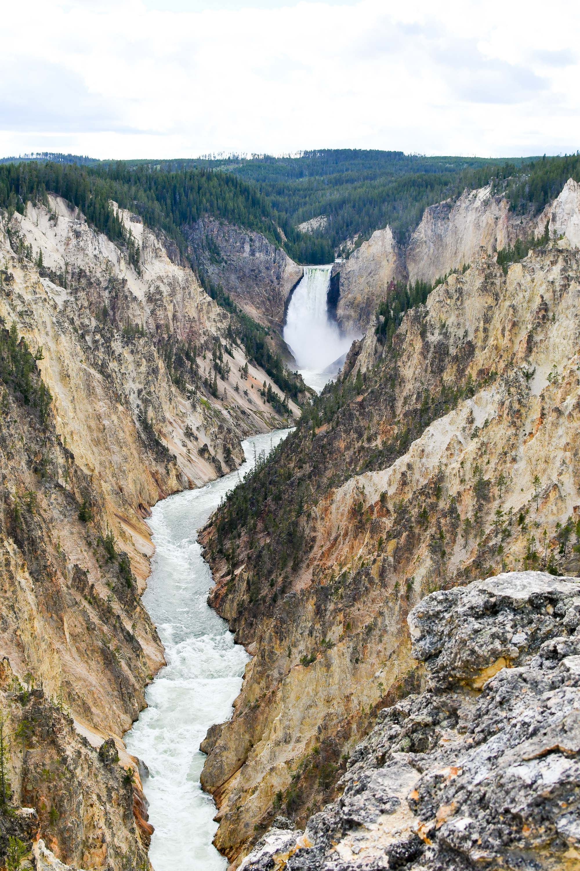 Artists Point, Yellowstone — via Cotton Cashmere Cat Hair