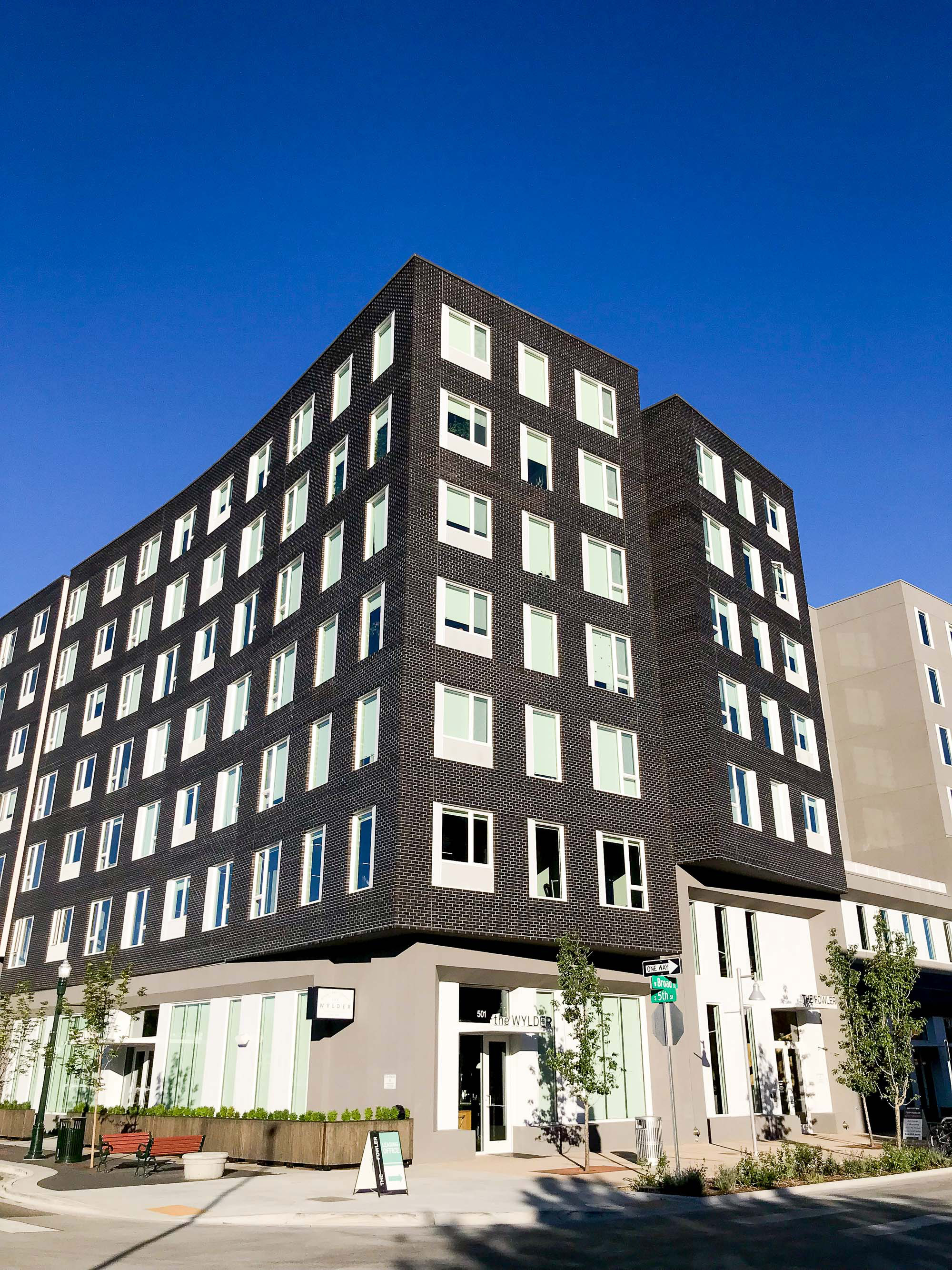 The Fowler apartment building in downtown Boise, Idaho — Cotton Cashmere Cat Hair