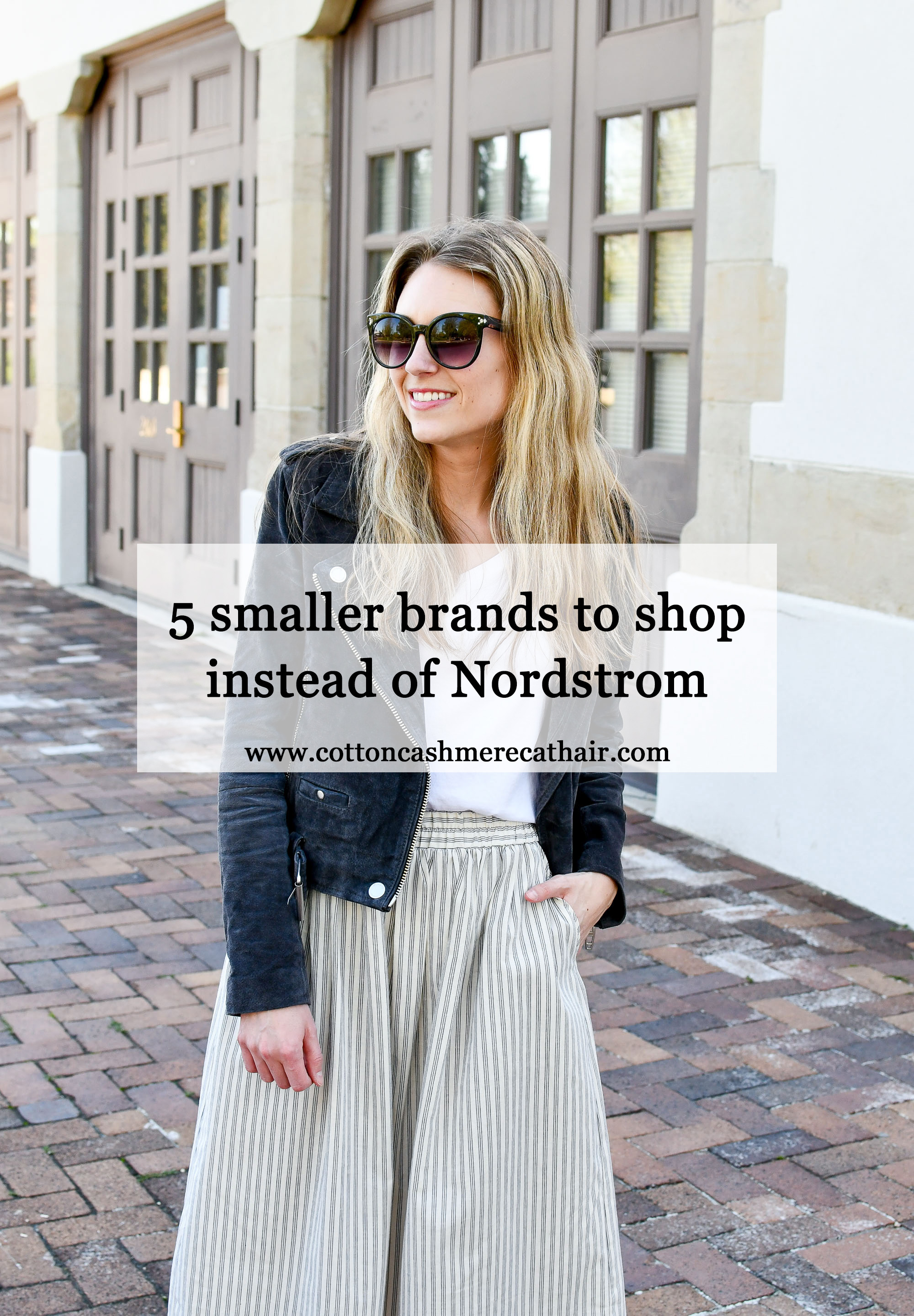 5 smaller brands to shop (instead of Nordstrom) — Cotton Cashmere Cat Hair