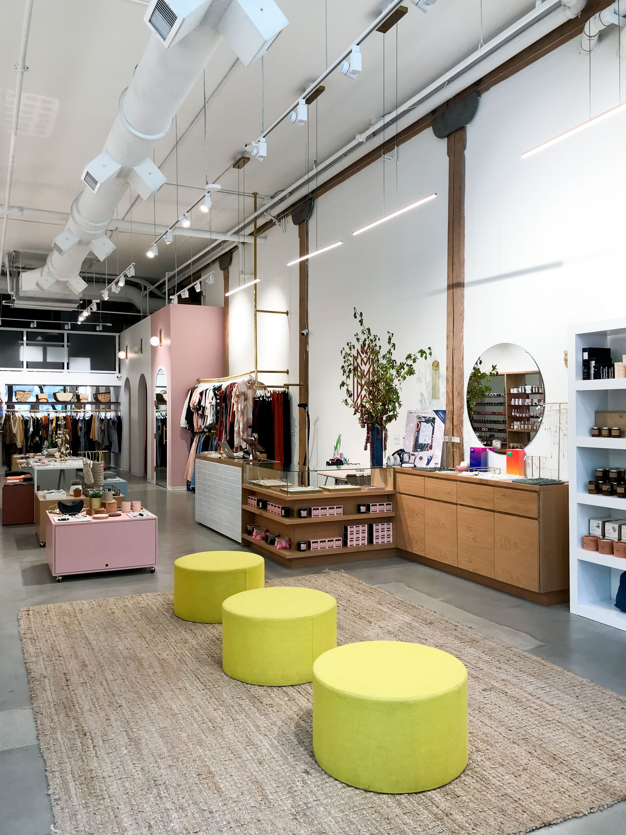 Inside the Moorea Seal store in Seattle — Cotton Cashmere Cat Hair