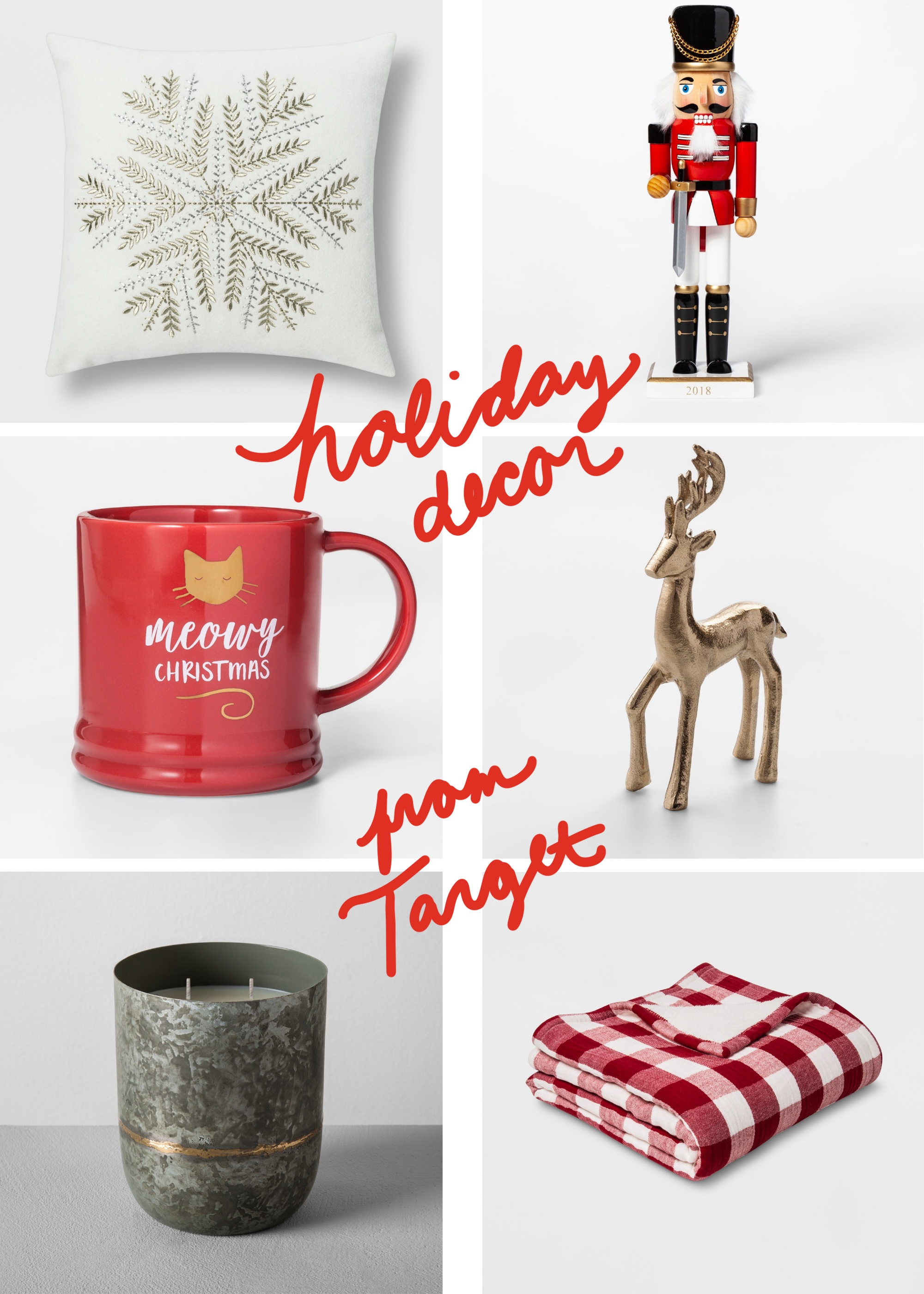 Affordable holiday home decor from Target — Cotton Cashmere Cat Hair