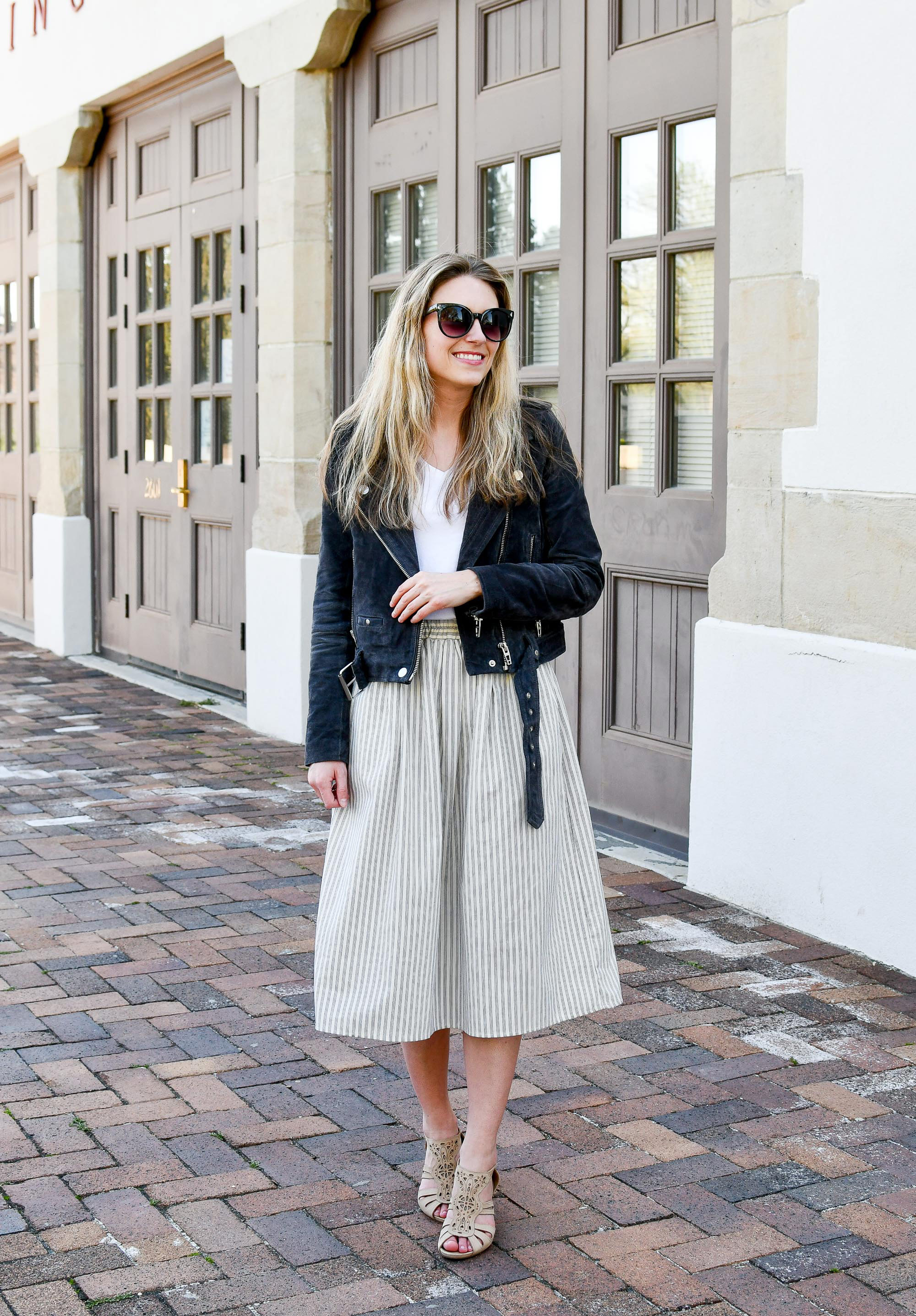 Favorite outfit: A little sweet, a little sassy — Cotton Cashmere Cat Hair