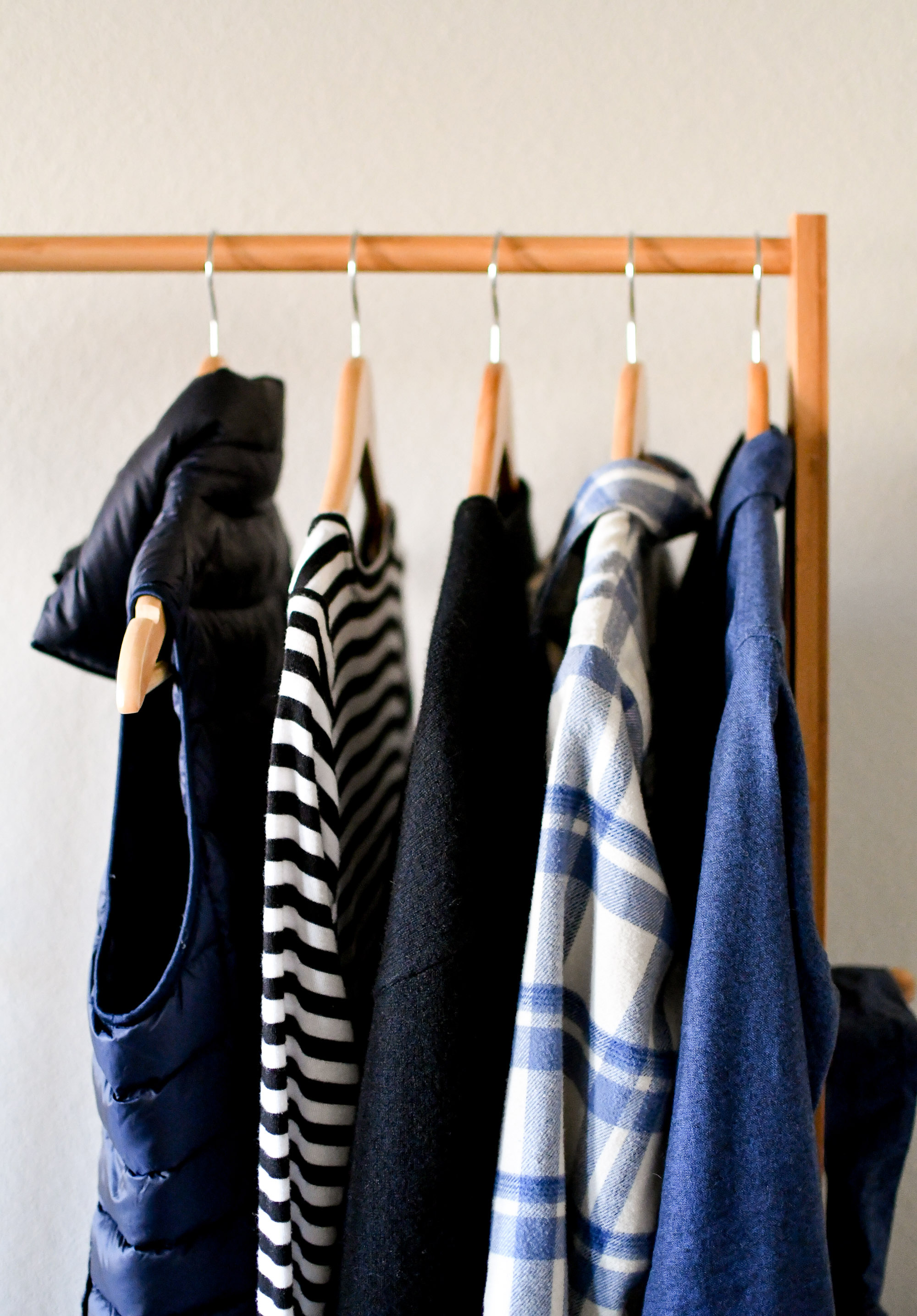 Navy and black for winter — Cotton Cashmere Cat Hair