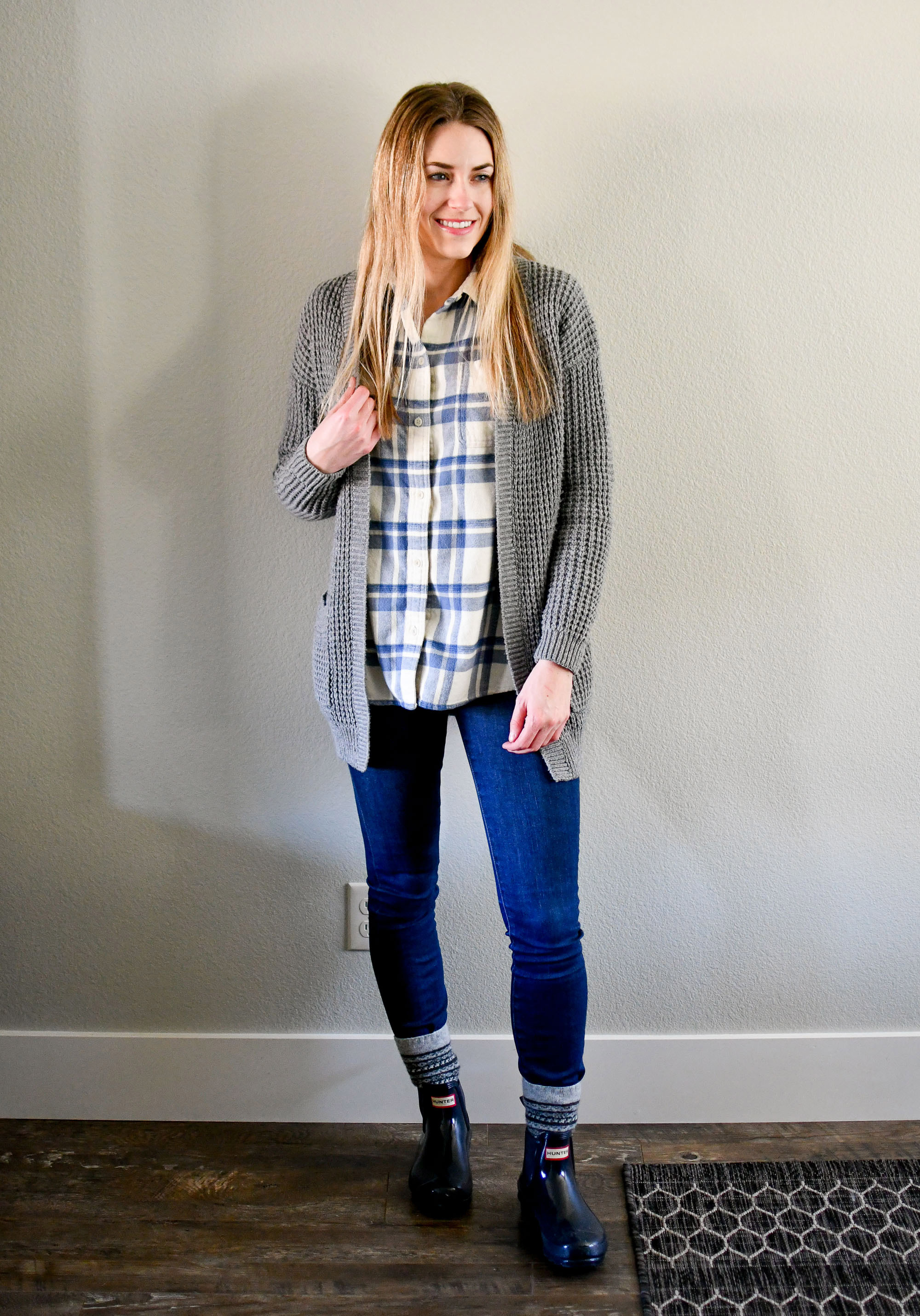 January Style Sudoku: Outfit 7 — Cotton Cashmere Cat Hair