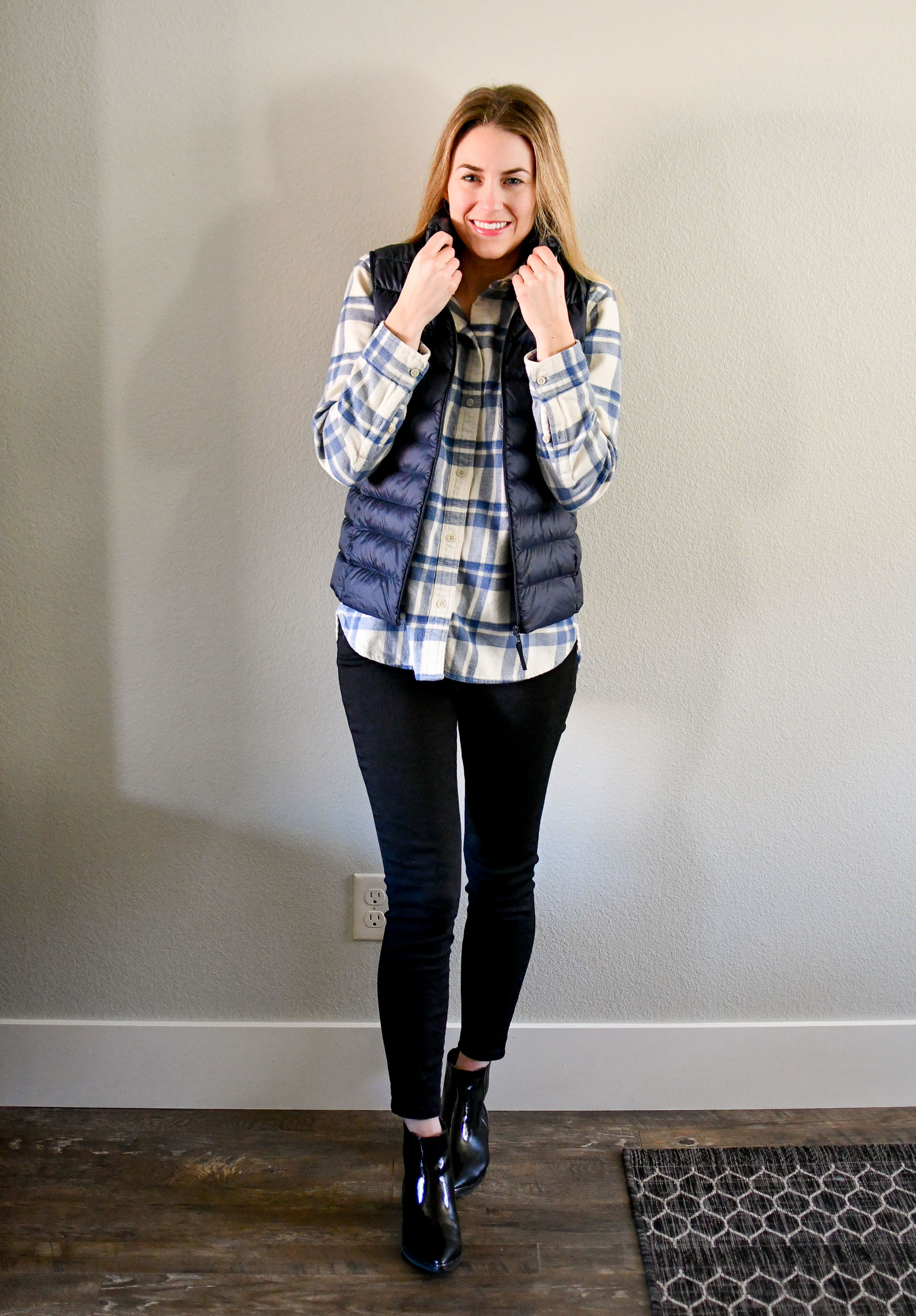 January Style Sudoku: column 2 outfit — Cotton Cashmere Cat Hair