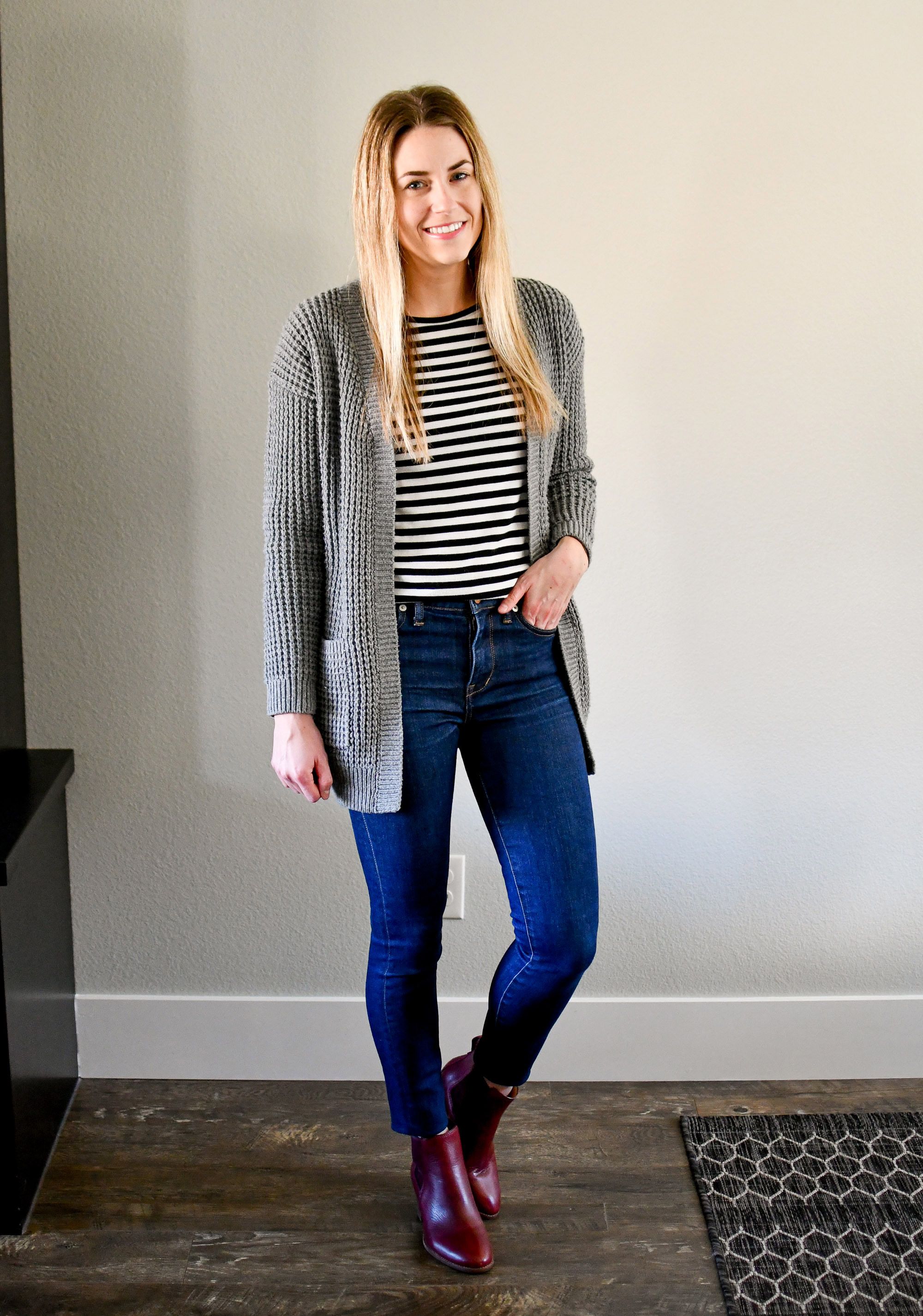 January Style Sudoku: corner 2 outfit — Cotton Cashmere Cat Hair