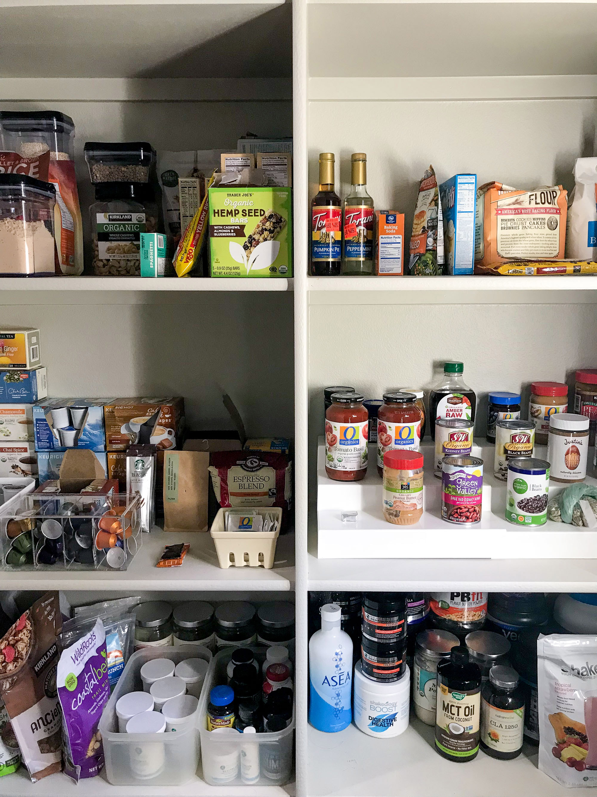 The January Cure: pantry organization — Cotton Cashmere Cat Hair
